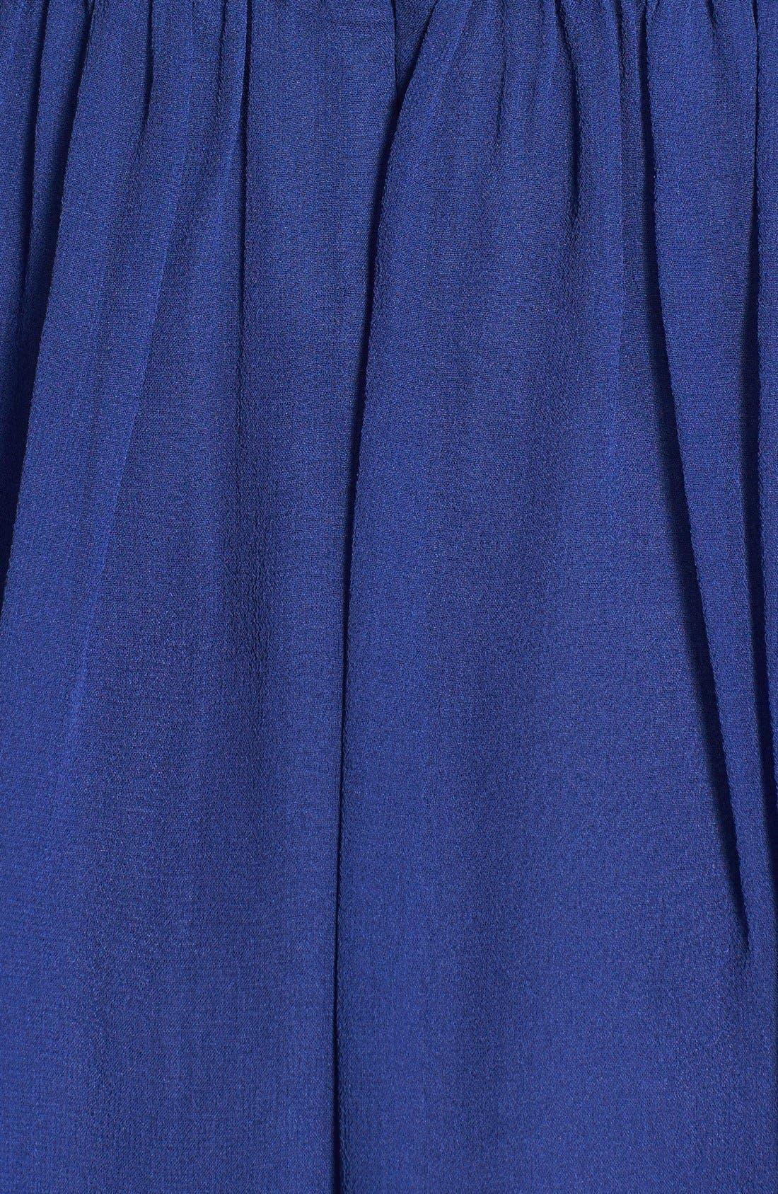 'Morgan' Strapless Silk Chiffon Dress,                             Alternate thumbnail 138, color,