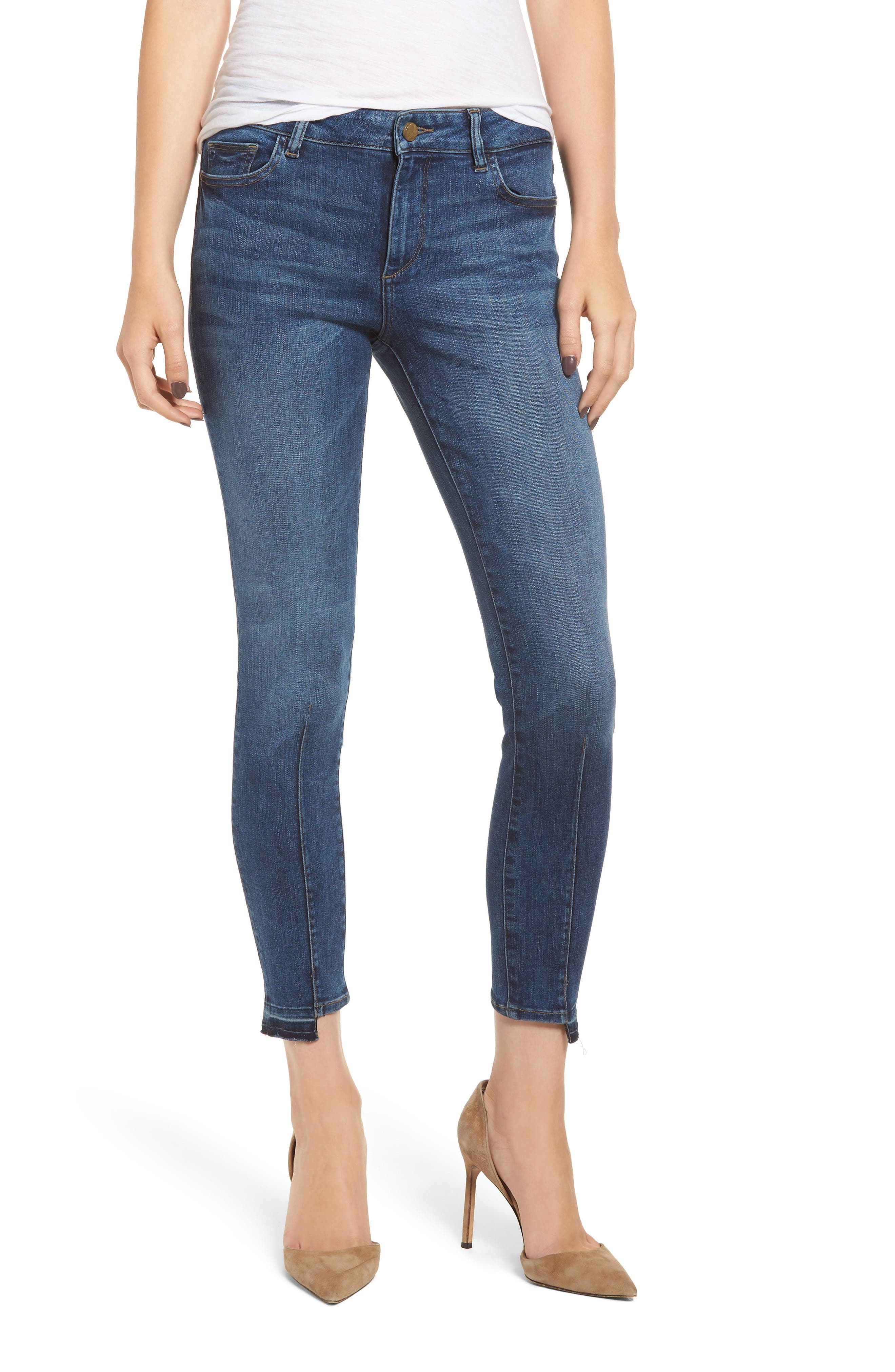 Florence Instasculpt Crop Skinny Jeans,                             Main thumbnail 1, color,                             KODY