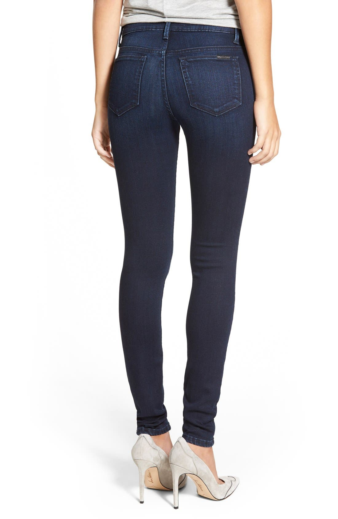 'Flawless - Icon' Skinny Jeans,                             Alternate thumbnail 5, color,                             410