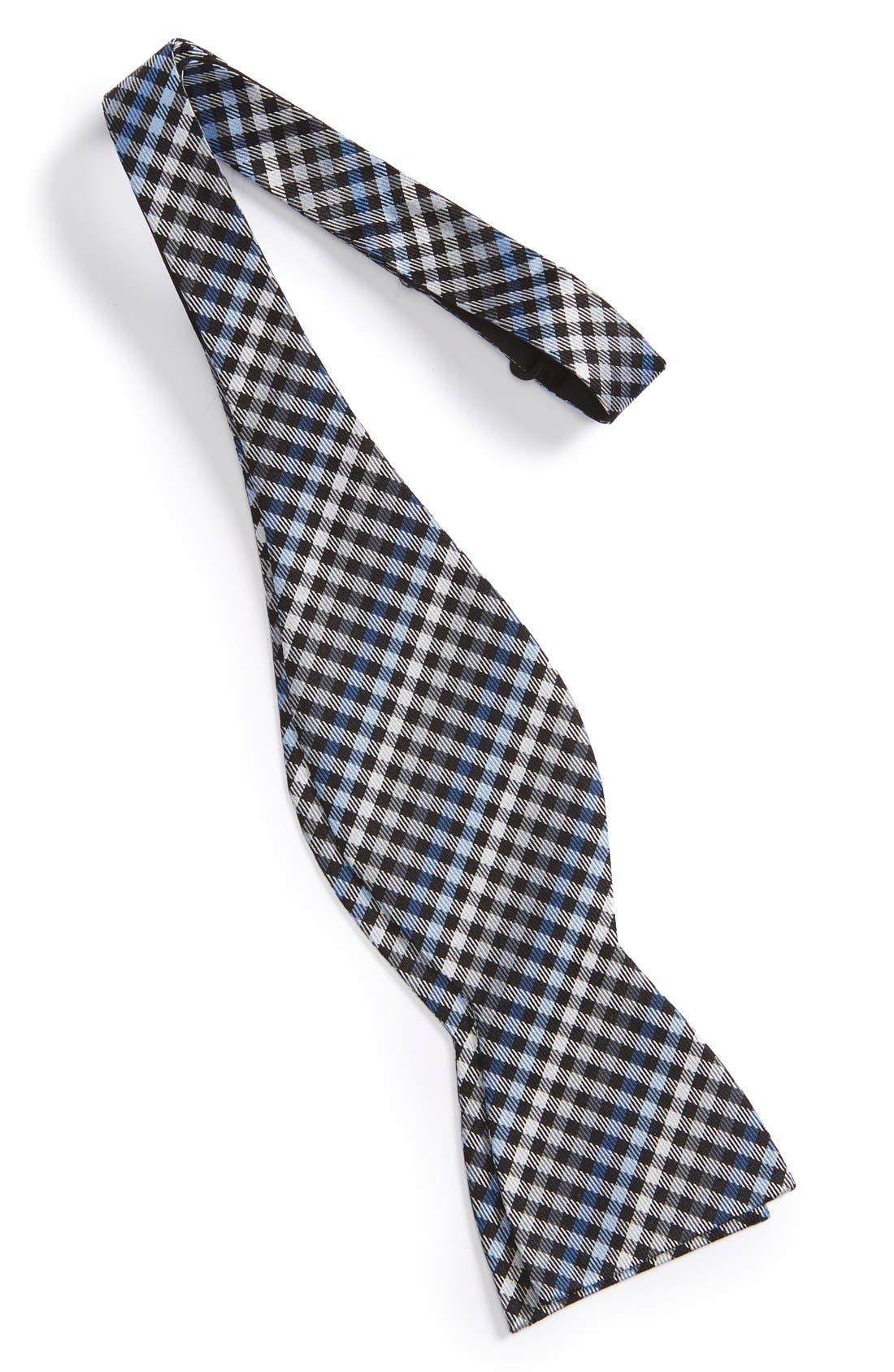 Plaid Bow Tie,                             Alternate thumbnail 3, color,                             001