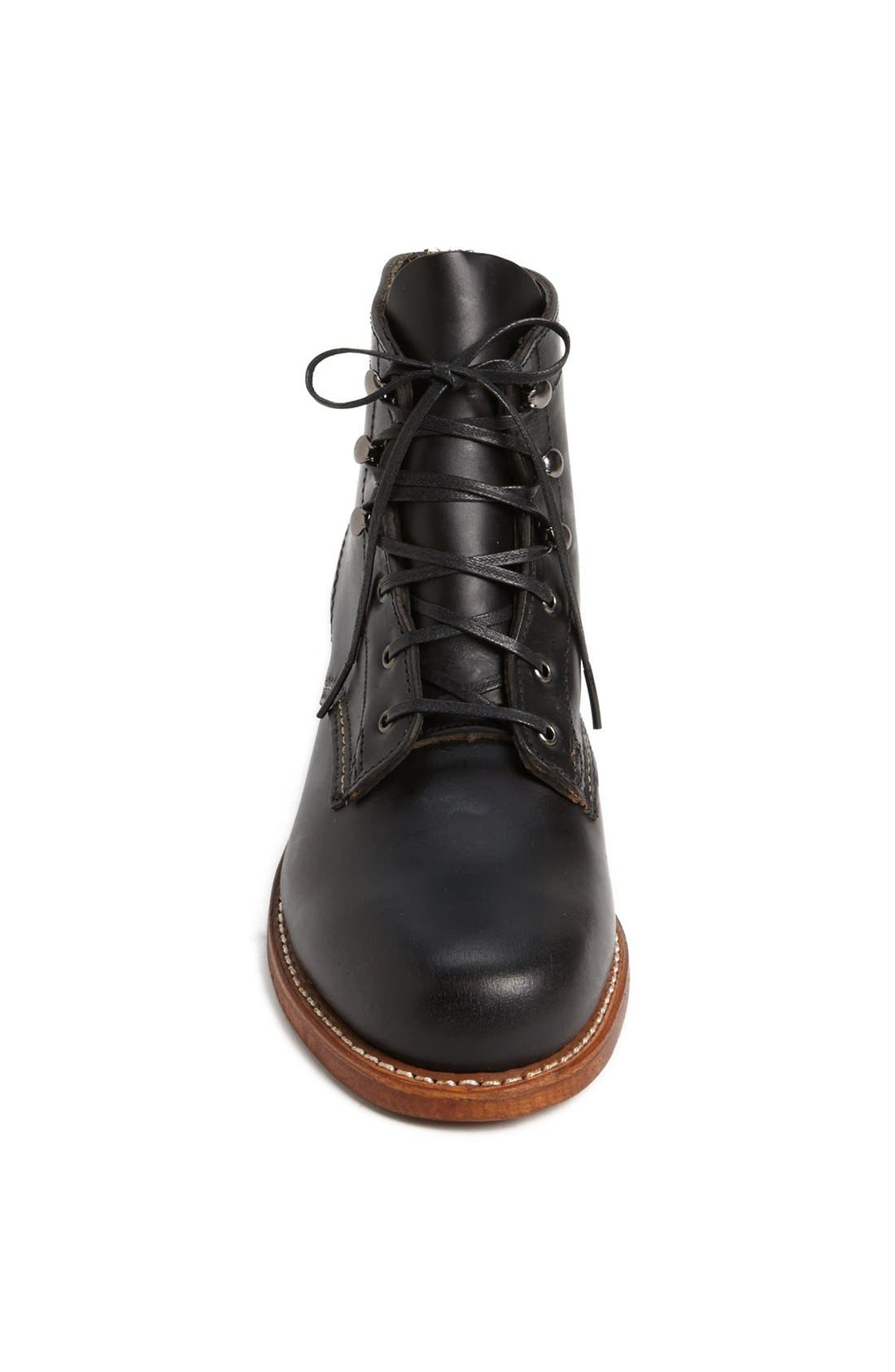 '1000 Mile' Leather Boot,                             Alternate thumbnail 3, color,                             001