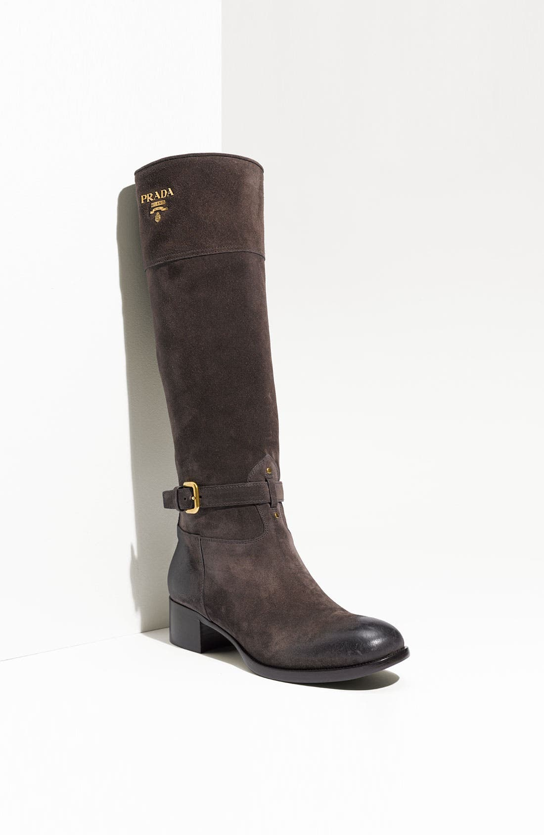 Leather Riding Boot,                             Main thumbnail 1, color,                             020