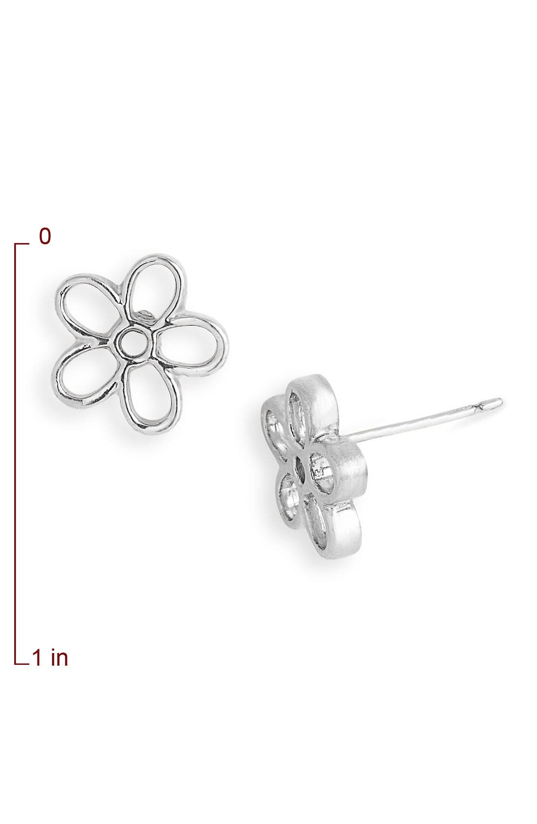 Daisy Stud Earrings,                             Alternate thumbnail 2, color,                             041