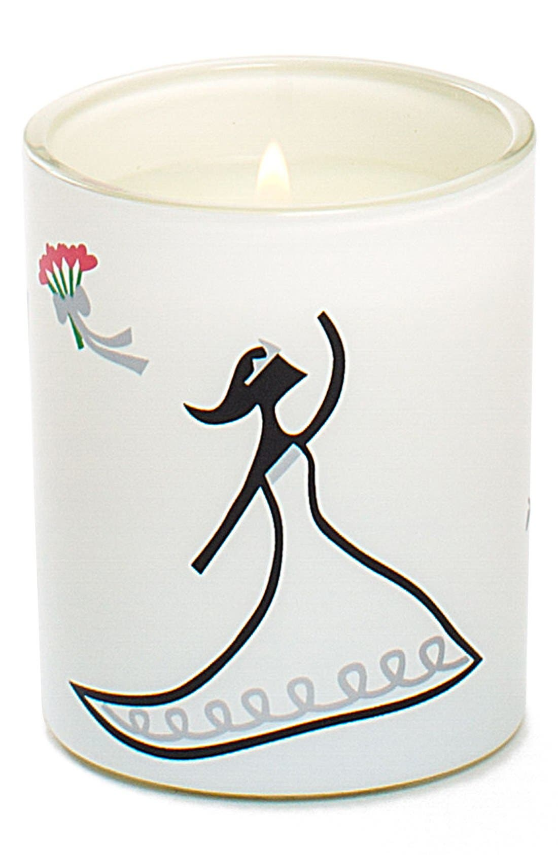 'Toss' Mini Scented Candle,                             Main thumbnail 1, color,                             000