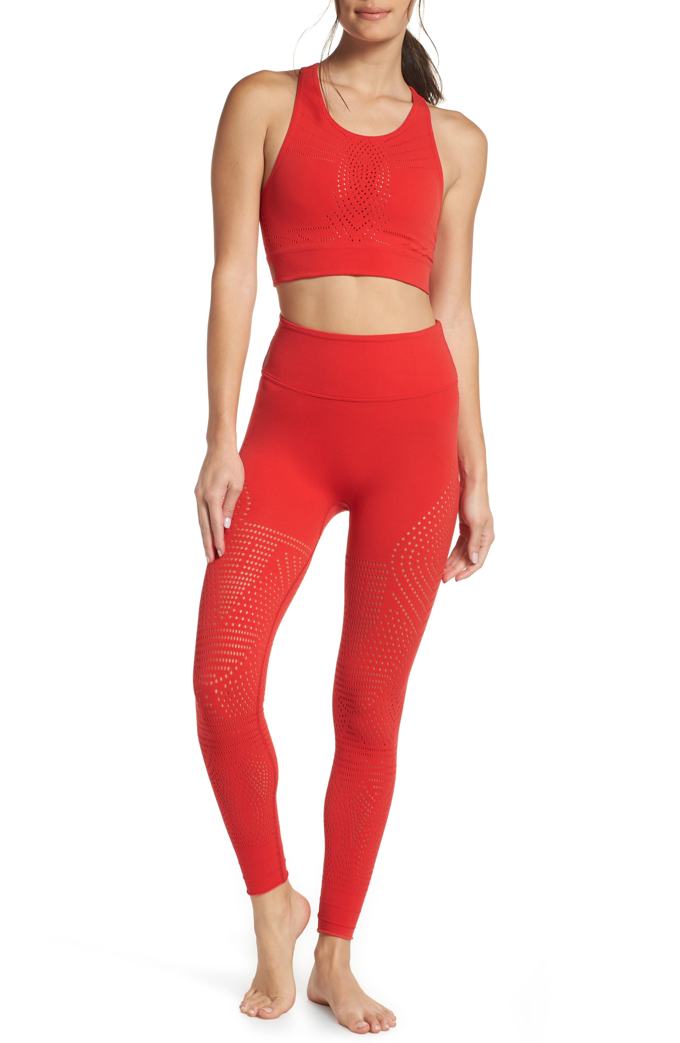 FP Movement Ecology Sports Bra,                             Alternate thumbnail 8, color,                             RED