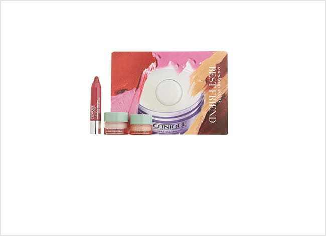 Clinique beauty gift with purchase.