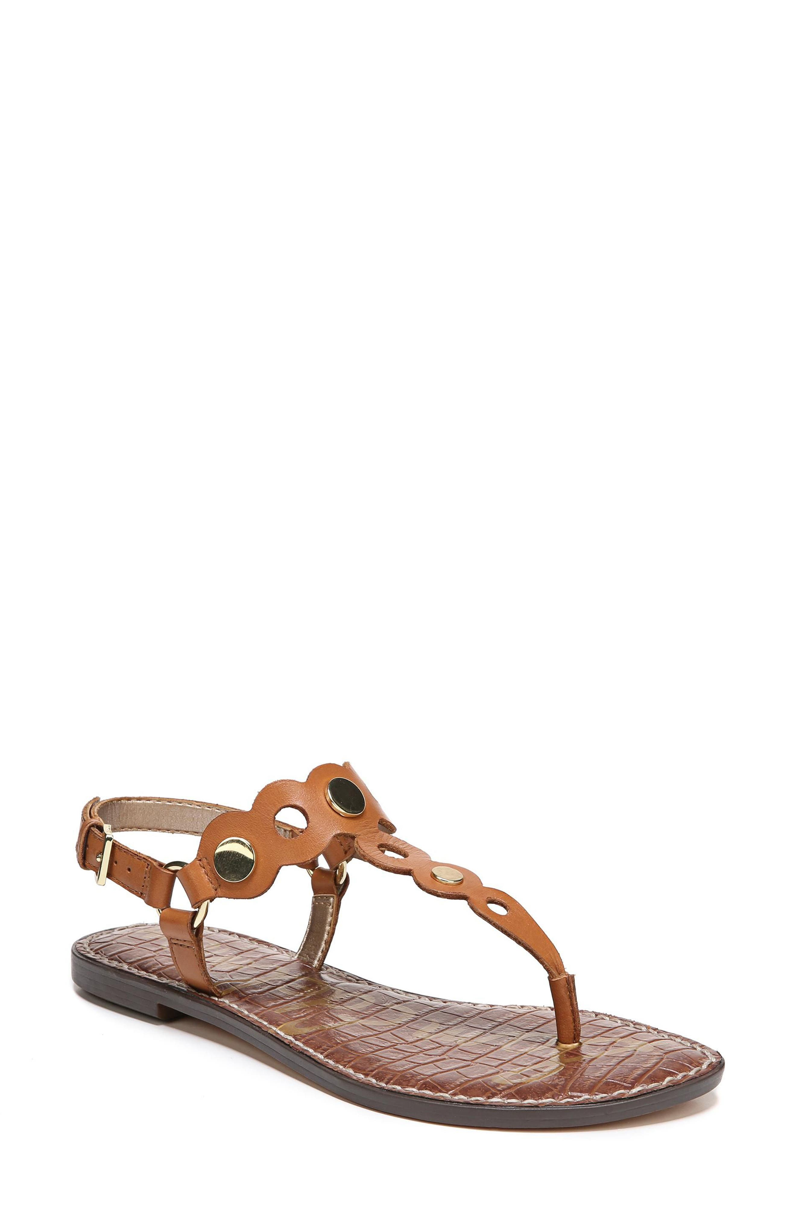 Gilly T-Strap Sandal,                             Main thumbnail 4, color,