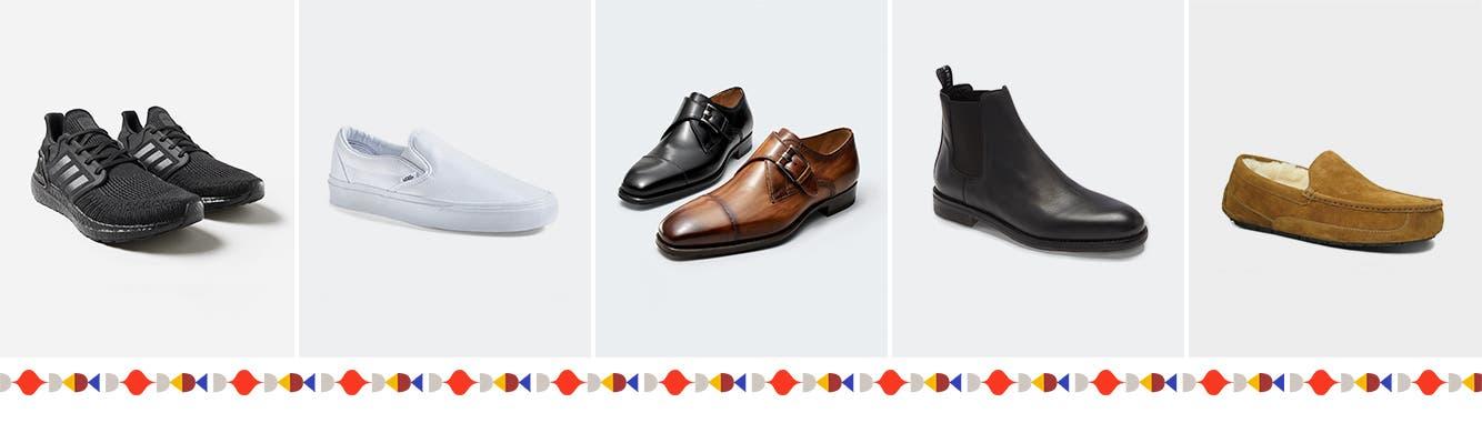 All men's shoes.