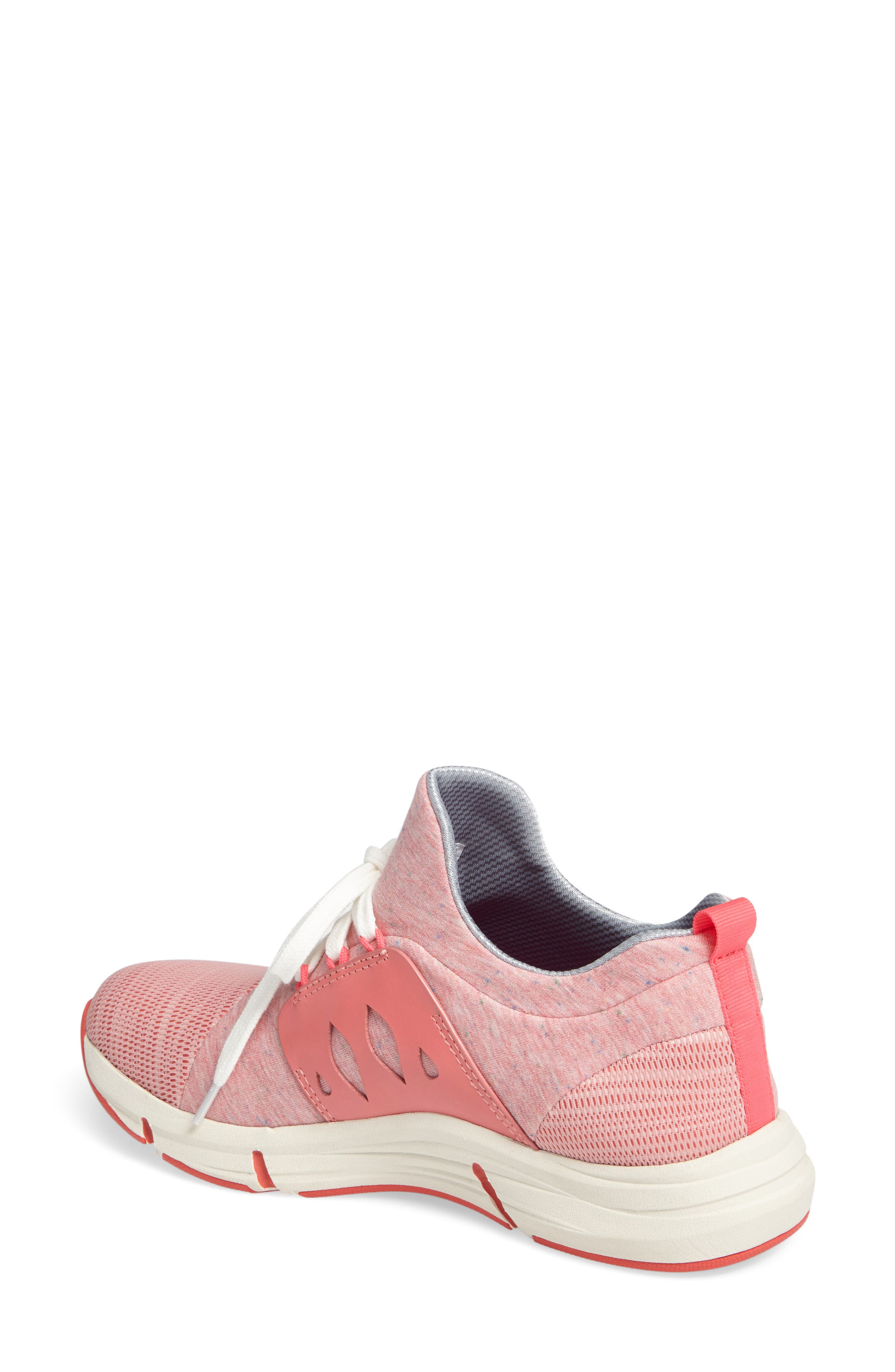Ordell Sneaker,                             Alternate thumbnail 2, color,                             PINK FABRIC