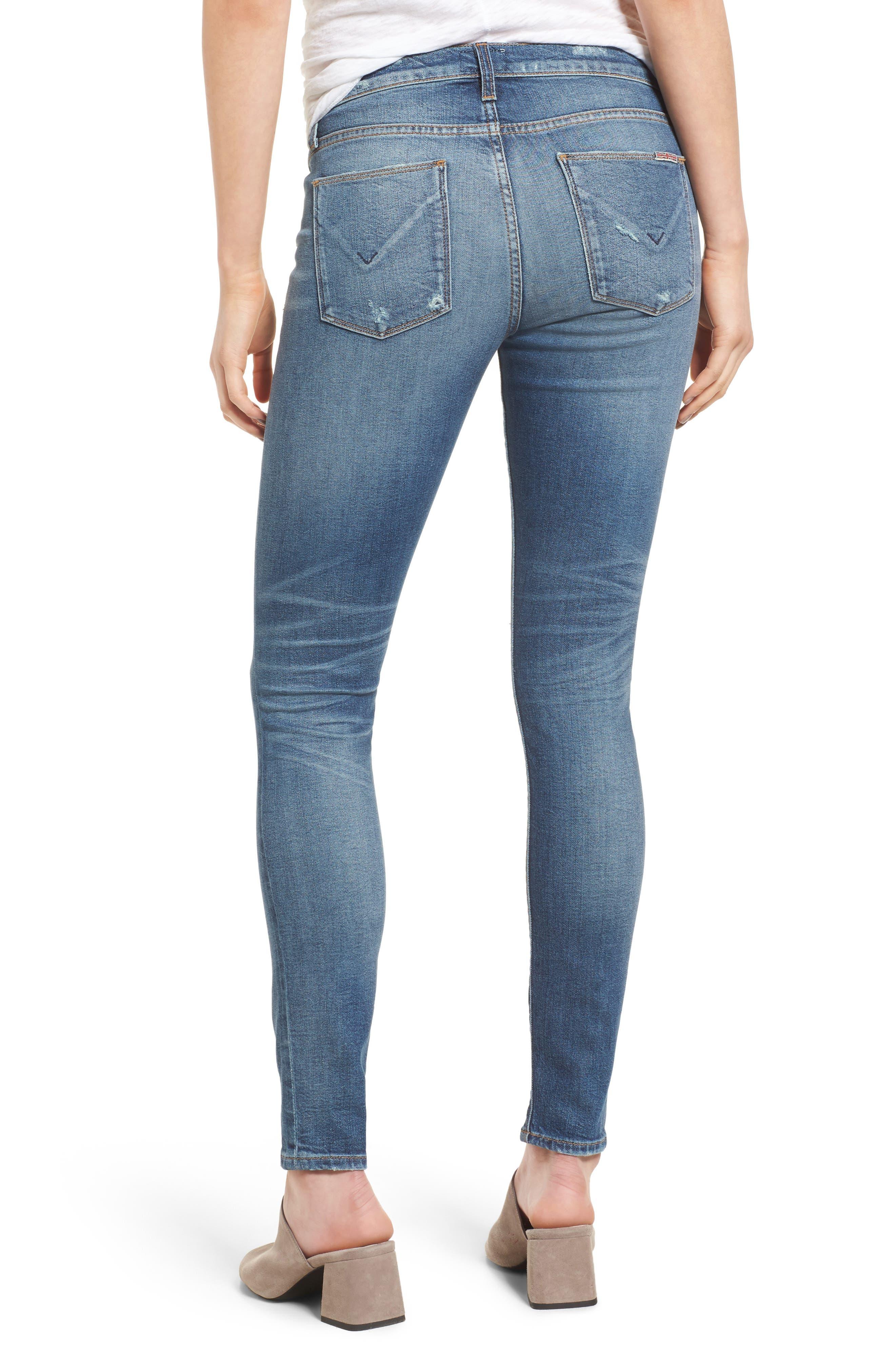 Nico Shredded Skinny Jeans,                             Alternate thumbnail 2, color,                             422