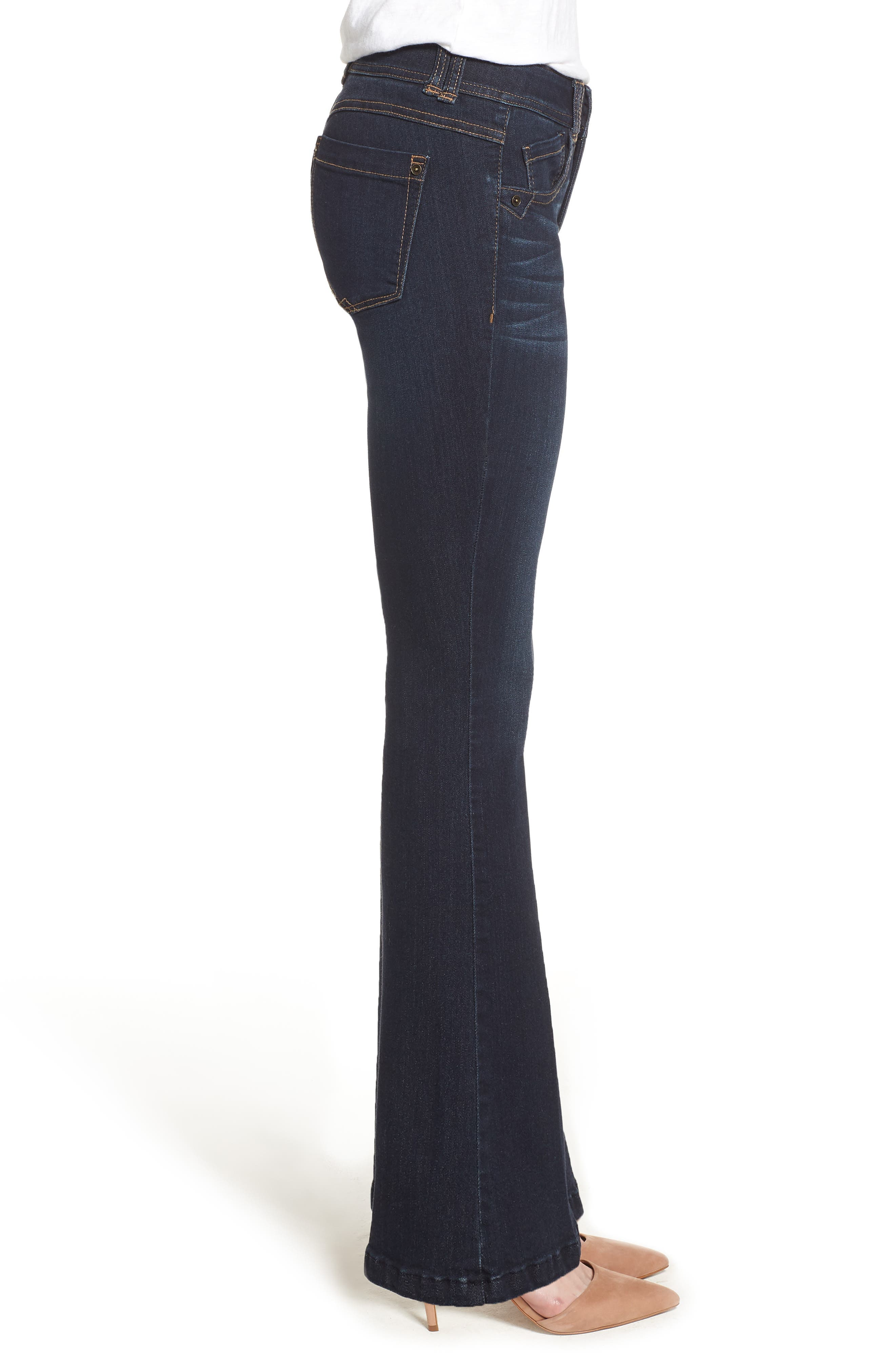 Ab-solution Itty Bitty Bootcut Jeans,                             Alternate thumbnail 3, color,                             IN-INDIGO