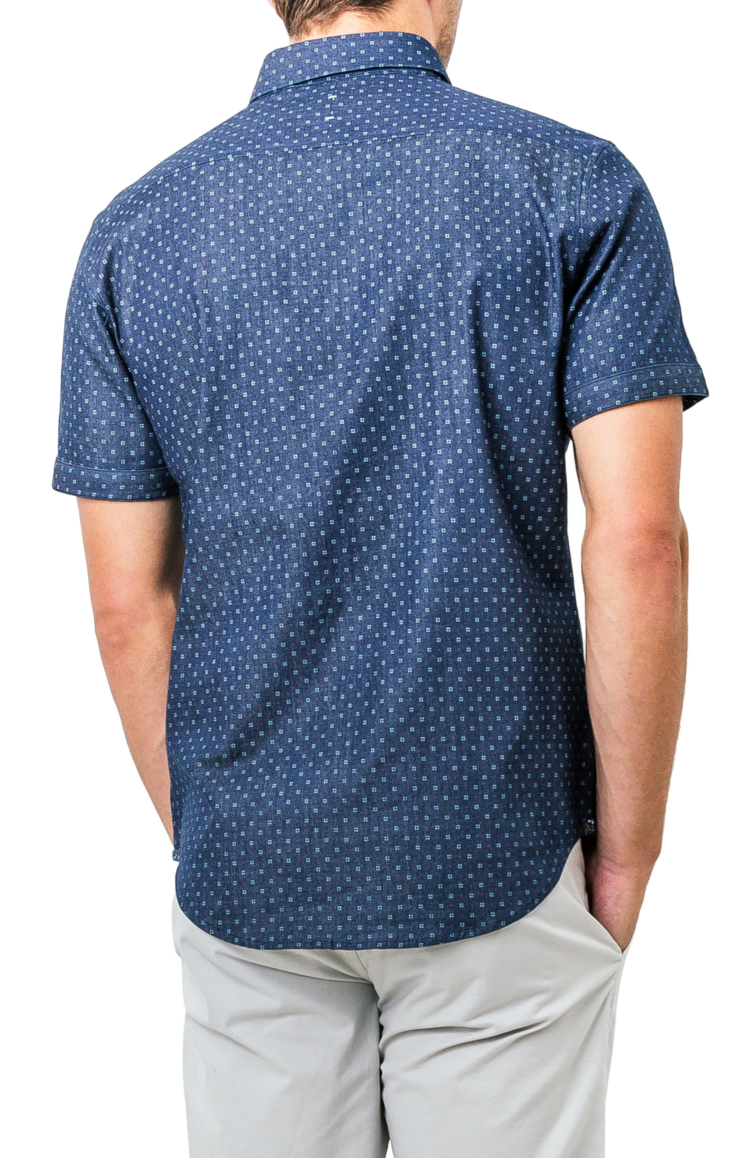 Innervision Woven Shirt,                             Alternate thumbnail 2, color,                             410