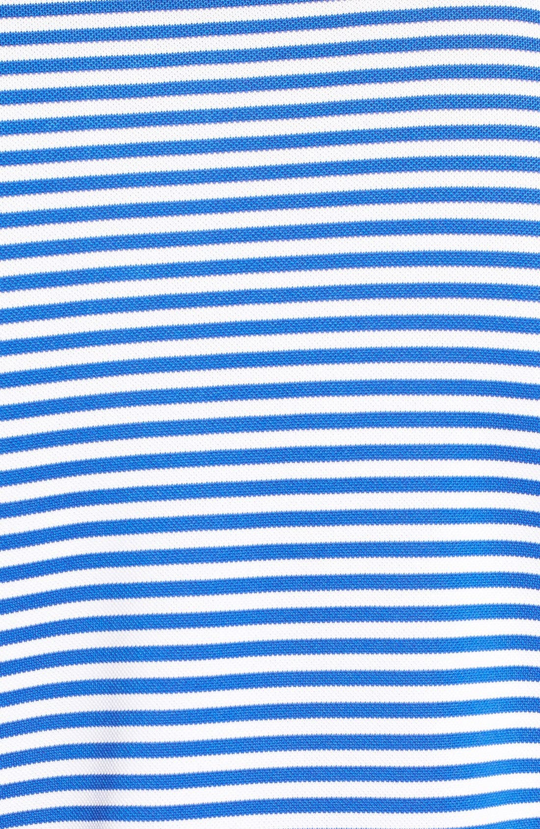 XH2O Feed Stripe Stretch Golf Polo,                             Alternate thumbnail 84, color,