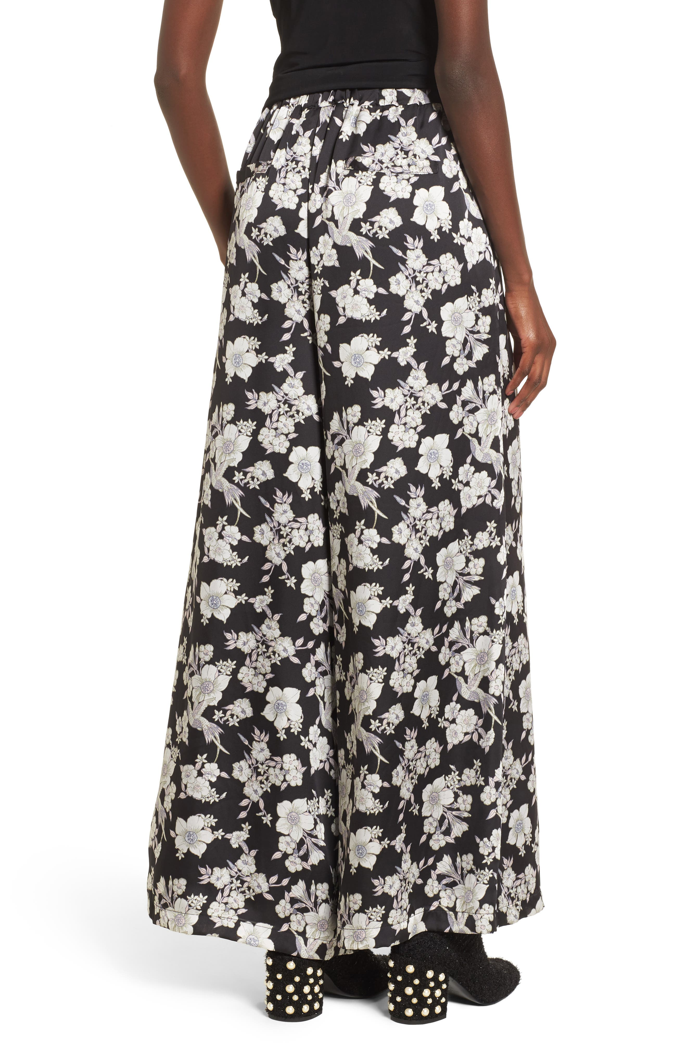 Birdee Wide Leg Pants,                             Alternate thumbnail 2, color,