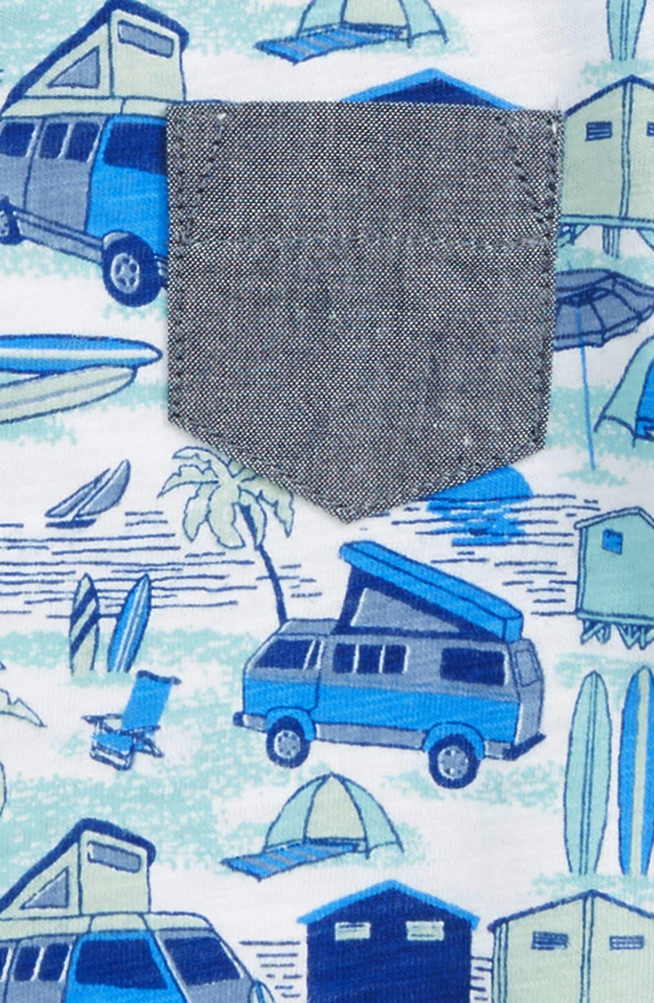 Pocket T-Shirt,                             Alternate thumbnail 2, color,                             100