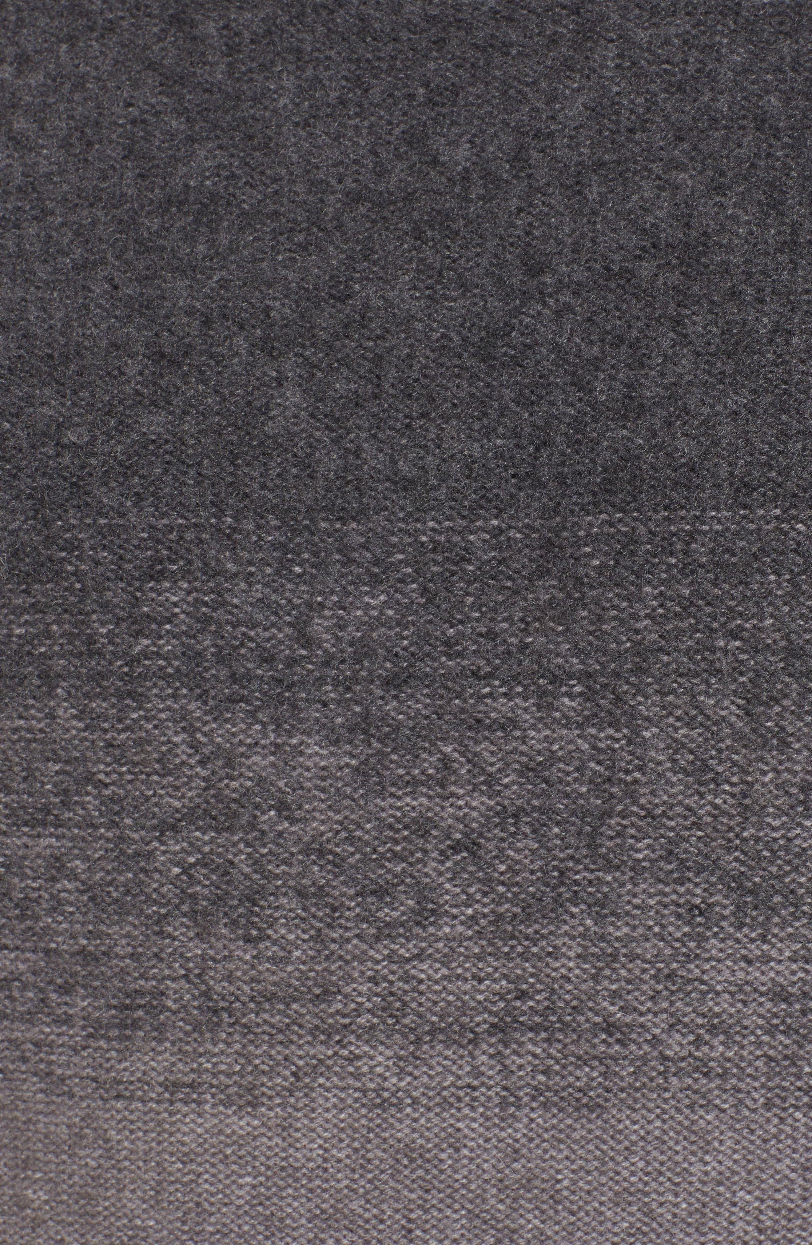 Monte Rosse Ombré Cashmere Sweater,                             Alternate thumbnail 5, color,                             030