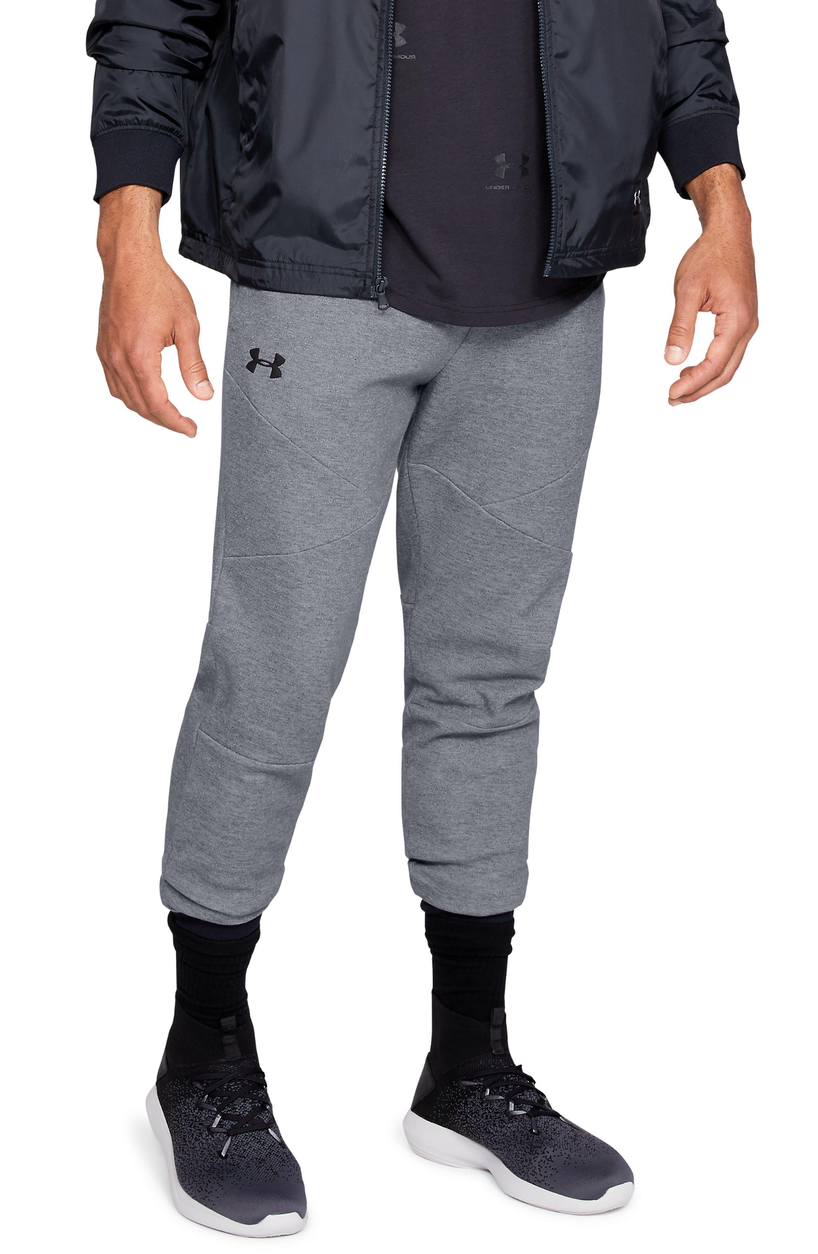 Unstoppable Double Knit Jogger Pants,                             Main thumbnail 1, color,                             STEEL