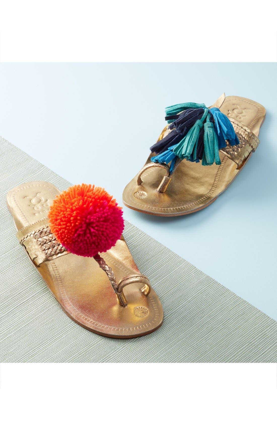 Scaramouch Tassel Sandal,                             Alternate thumbnail 6, color,                             200