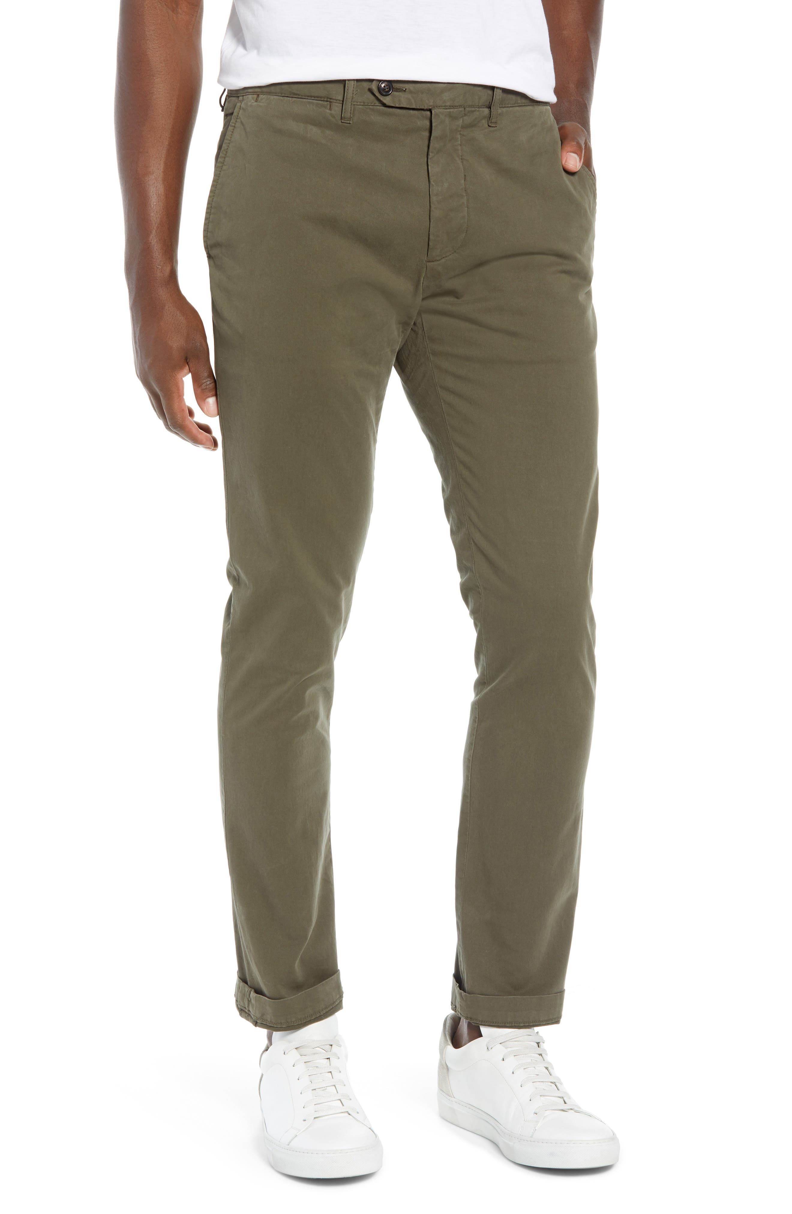 Stretch Twill Chino Pants,                         Main,                         color, 340