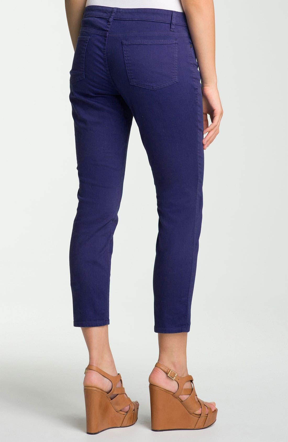 Skinny Ankle Jeans,                             Alternate thumbnail 32, color,