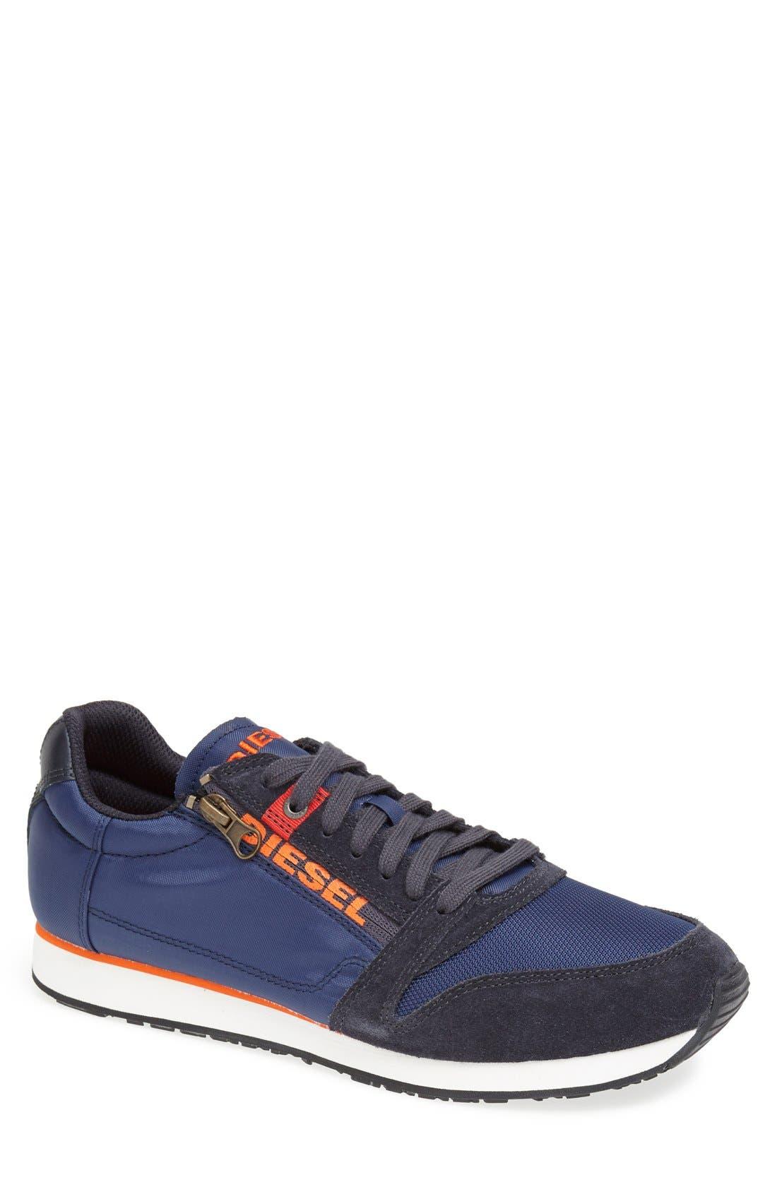 'Black Jake Slocker' Sneaker, Main, color, 400