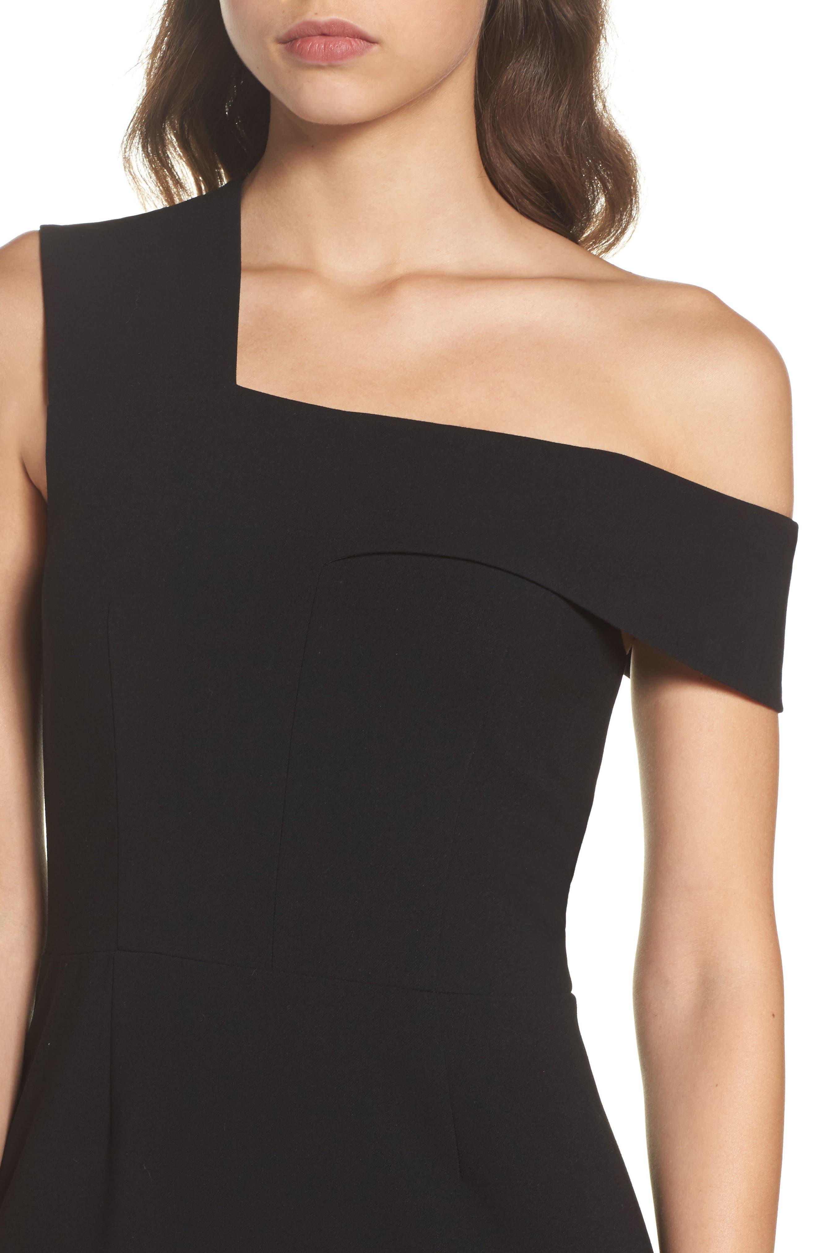 Whisper Ruth Off the Shoulder Sheath Dress,                             Alternate thumbnail 4, color,