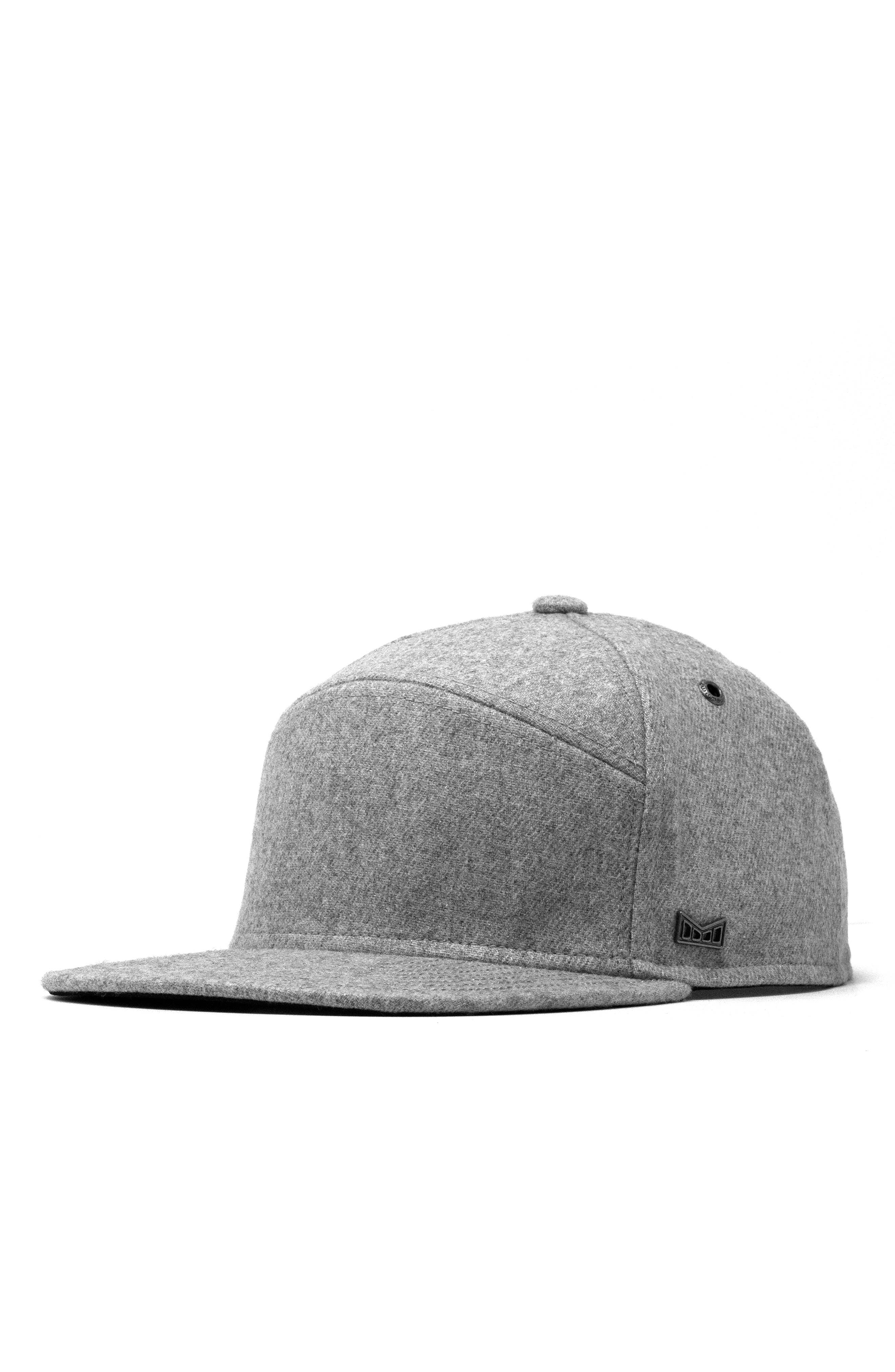 The Advocate Wool Baseball Cap, Main, color, HEATHER GREY