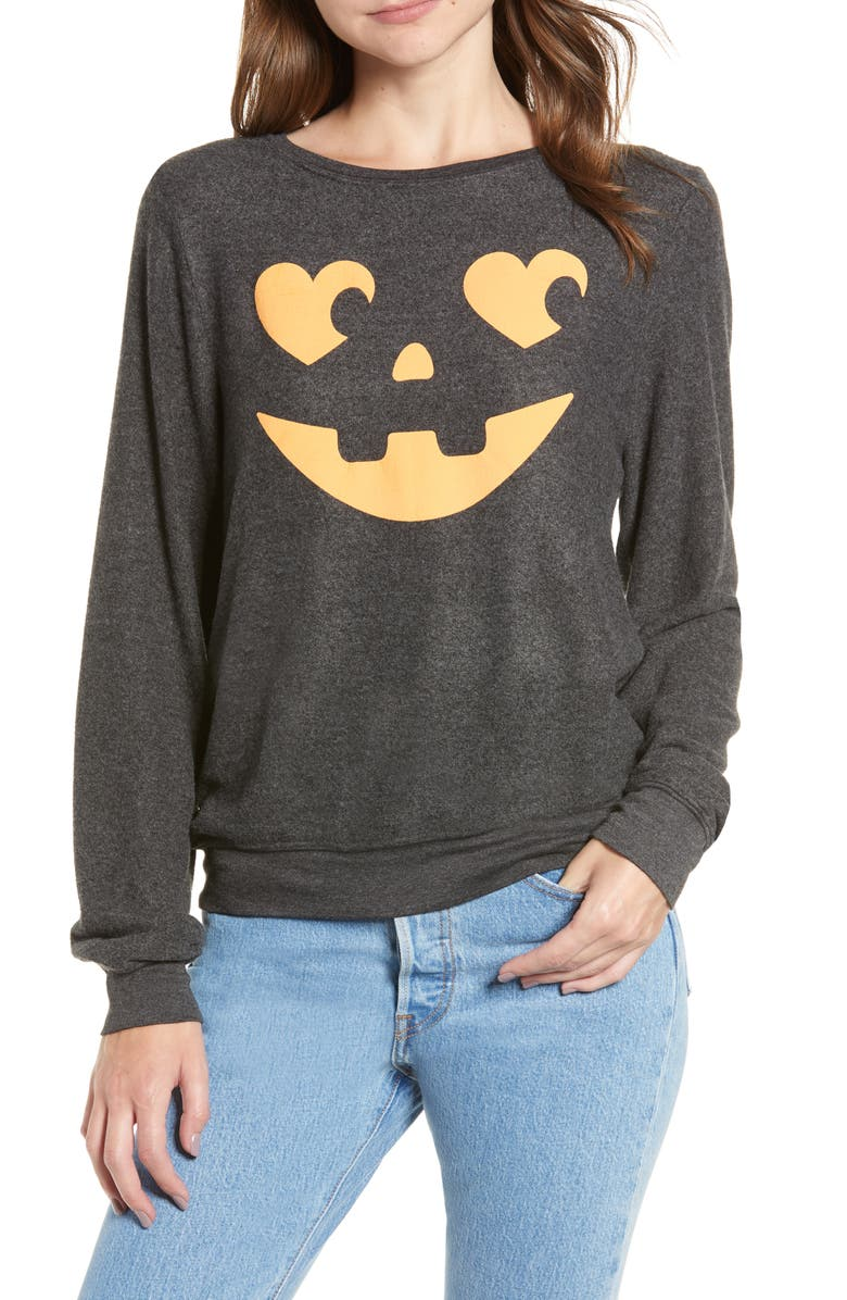 Wildfox JACK O' HEARTS BAGGY BEACH JUMPER PULLOVER