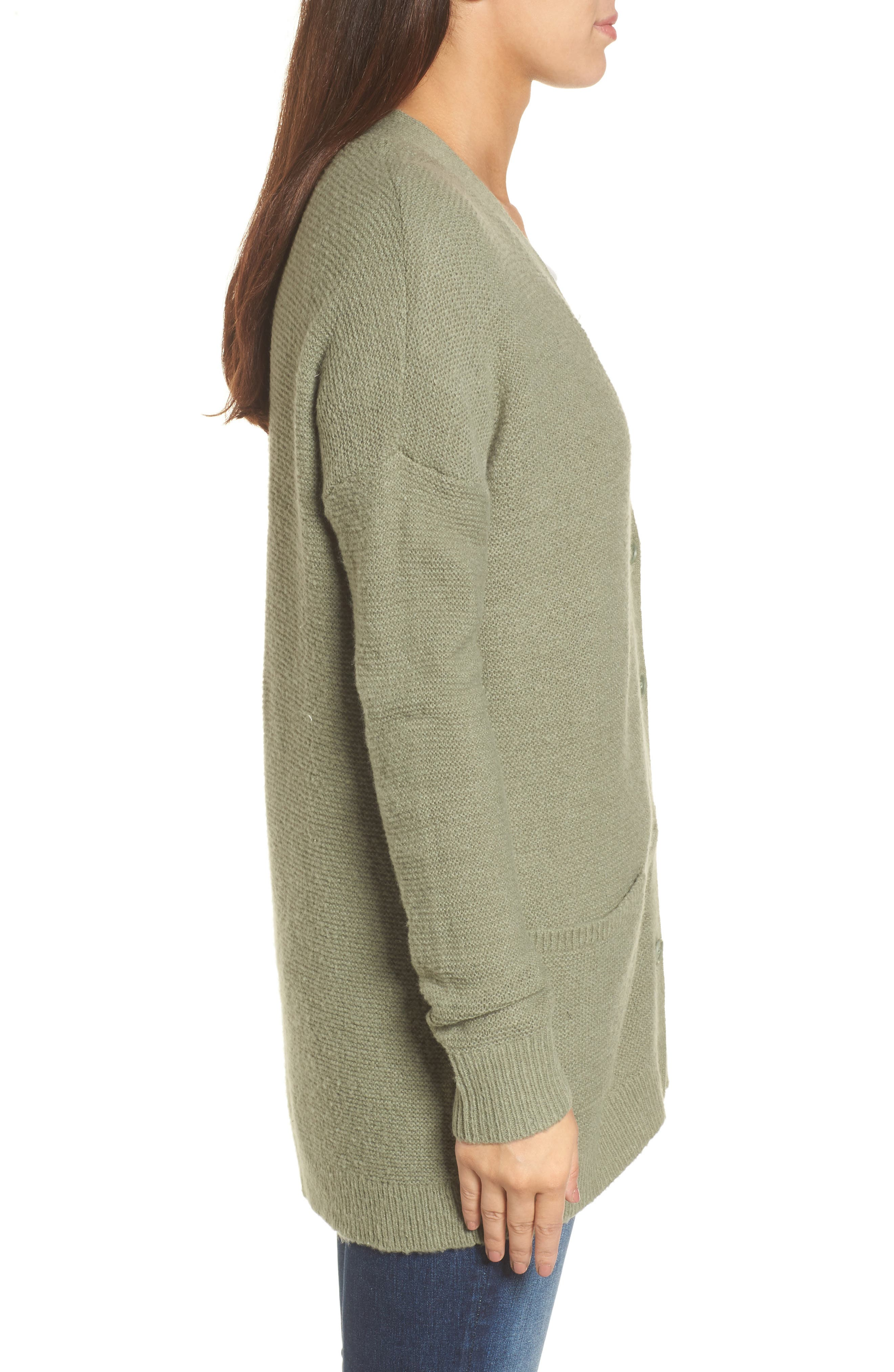 Relaxed Boyfriend Cardigan,                             Alternate thumbnail 16, color,