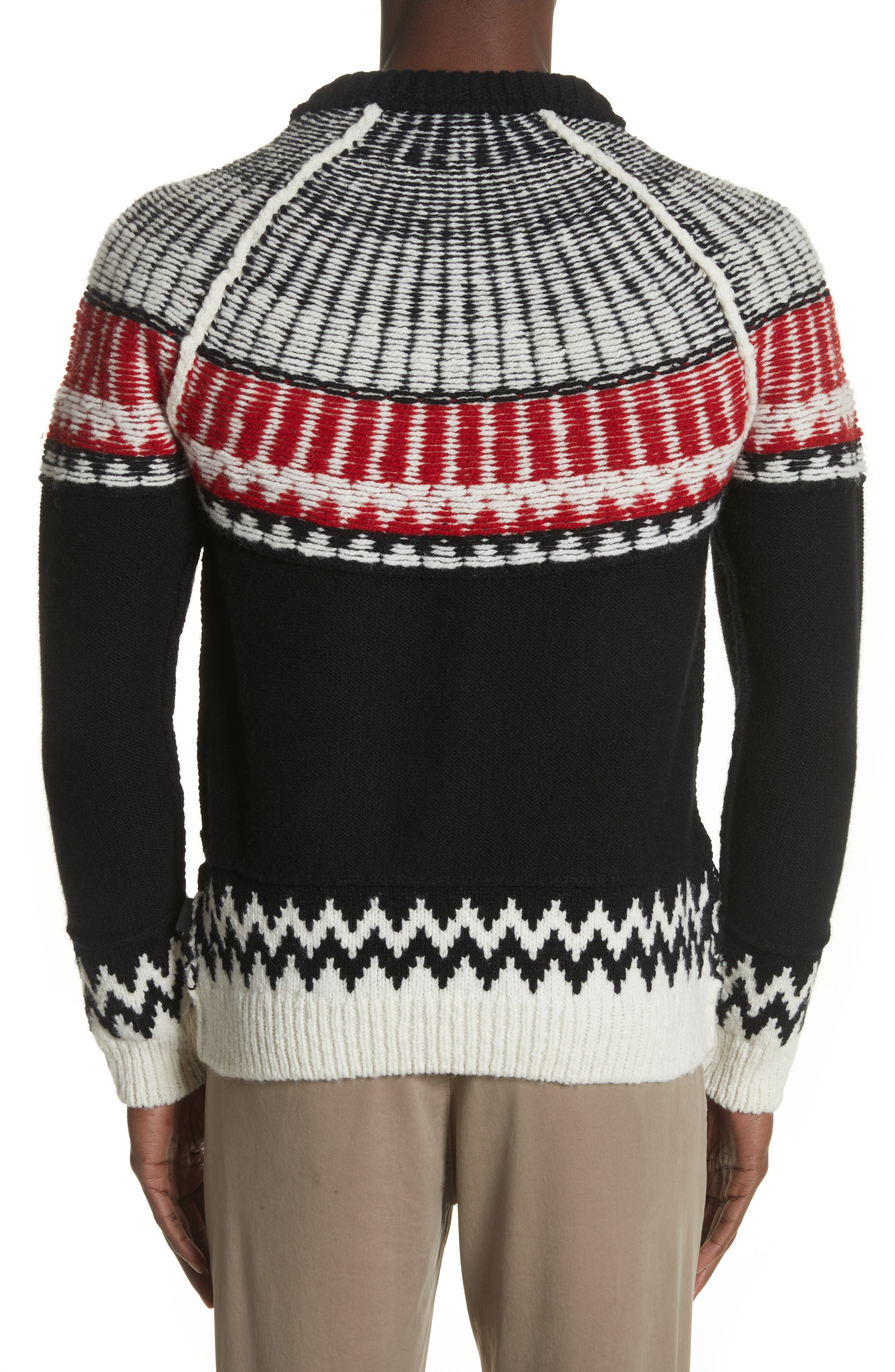 Rycroft Wool & Cashmere Blend Sweater,                             Alternate thumbnail 2, color,                             001