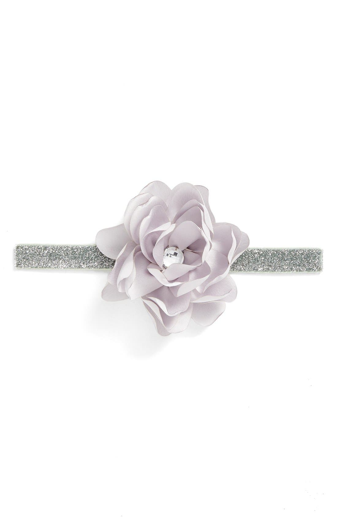Floral Headband,                             Main thumbnail 4, color,