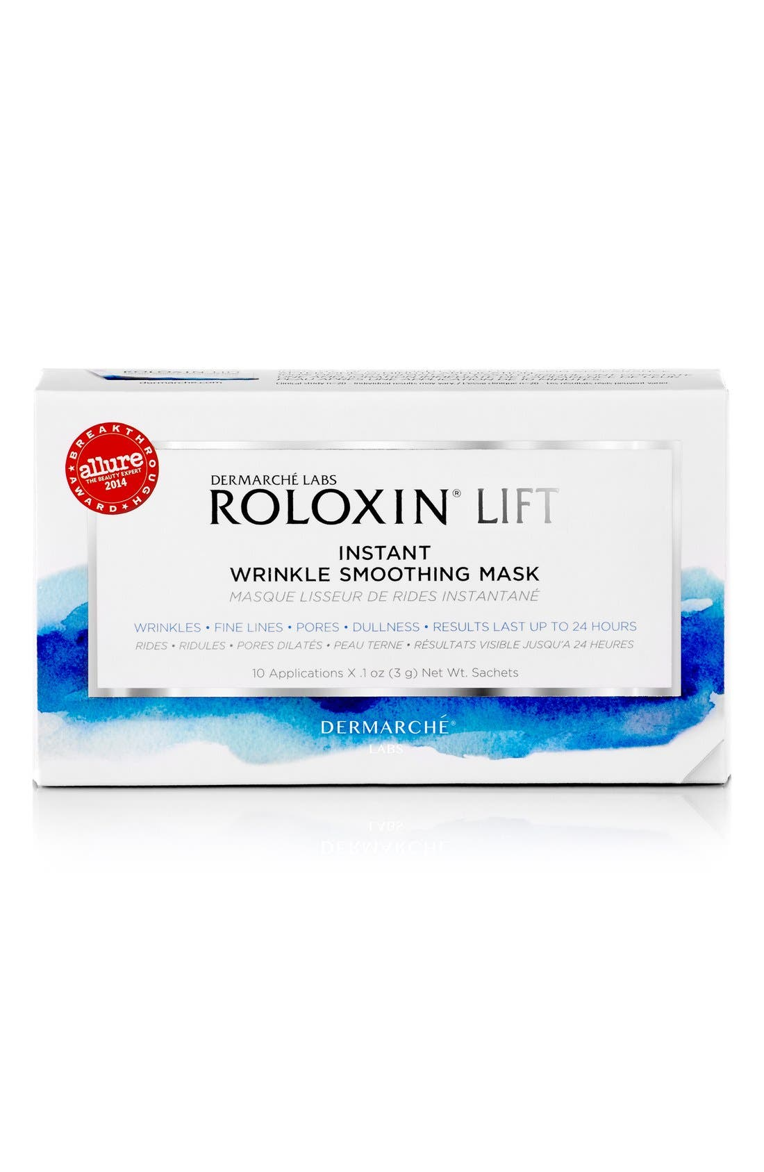 Dermarché Labs 'Roloxin<sup>®</sup> Lift' Instant Wrinkle Smoothing Mask,                             Main thumbnail 1, color,                             000