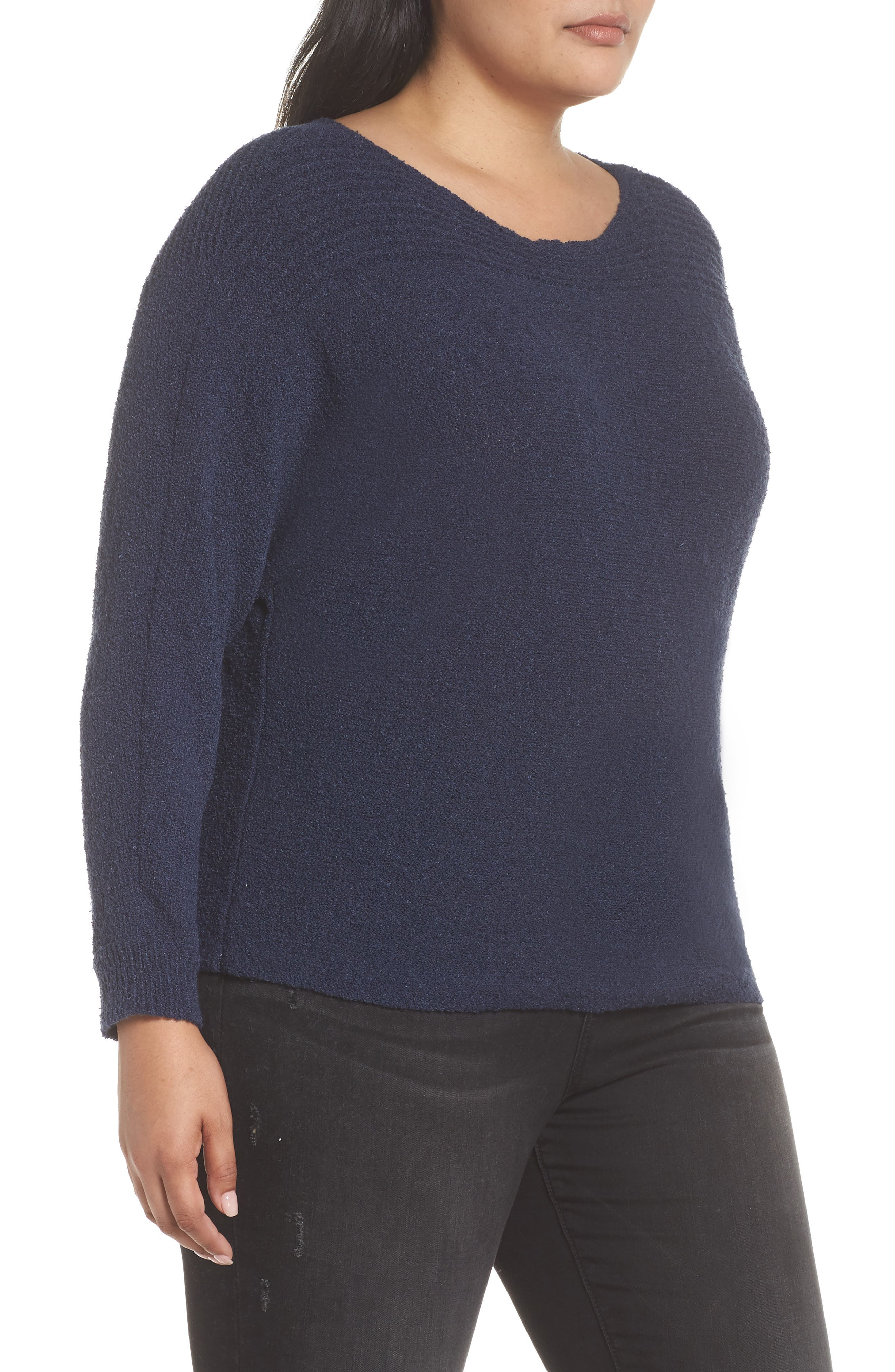 Horizontal Pullover Sweater,                             Alternate thumbnail 3, color,                             410