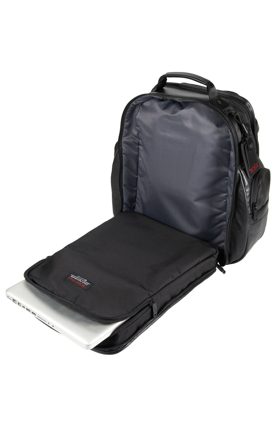 Alpha 2 T-Pass<sup>®</sup> Leather Brief Pack<sup>®</sup>,                             Alternate thumbnail 4, color,                             007