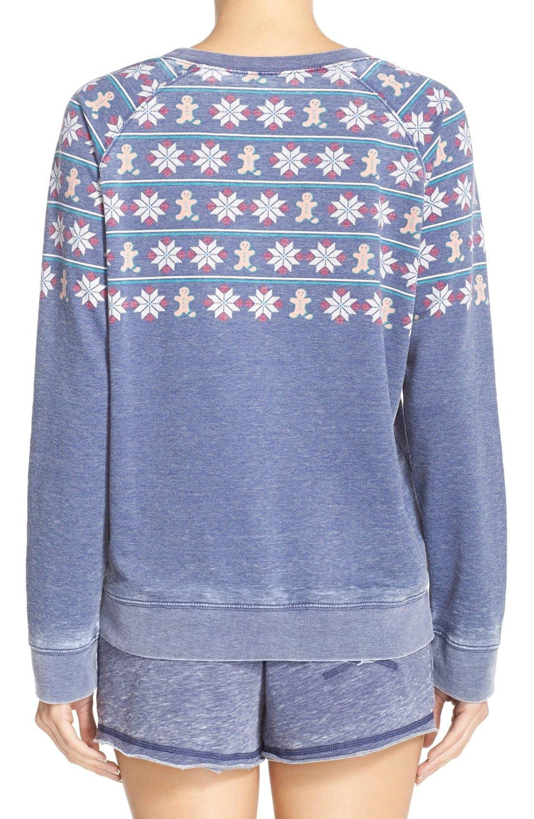 Burnout Lounge Sweatshirt,                             Alternate thumbnail 97, color,