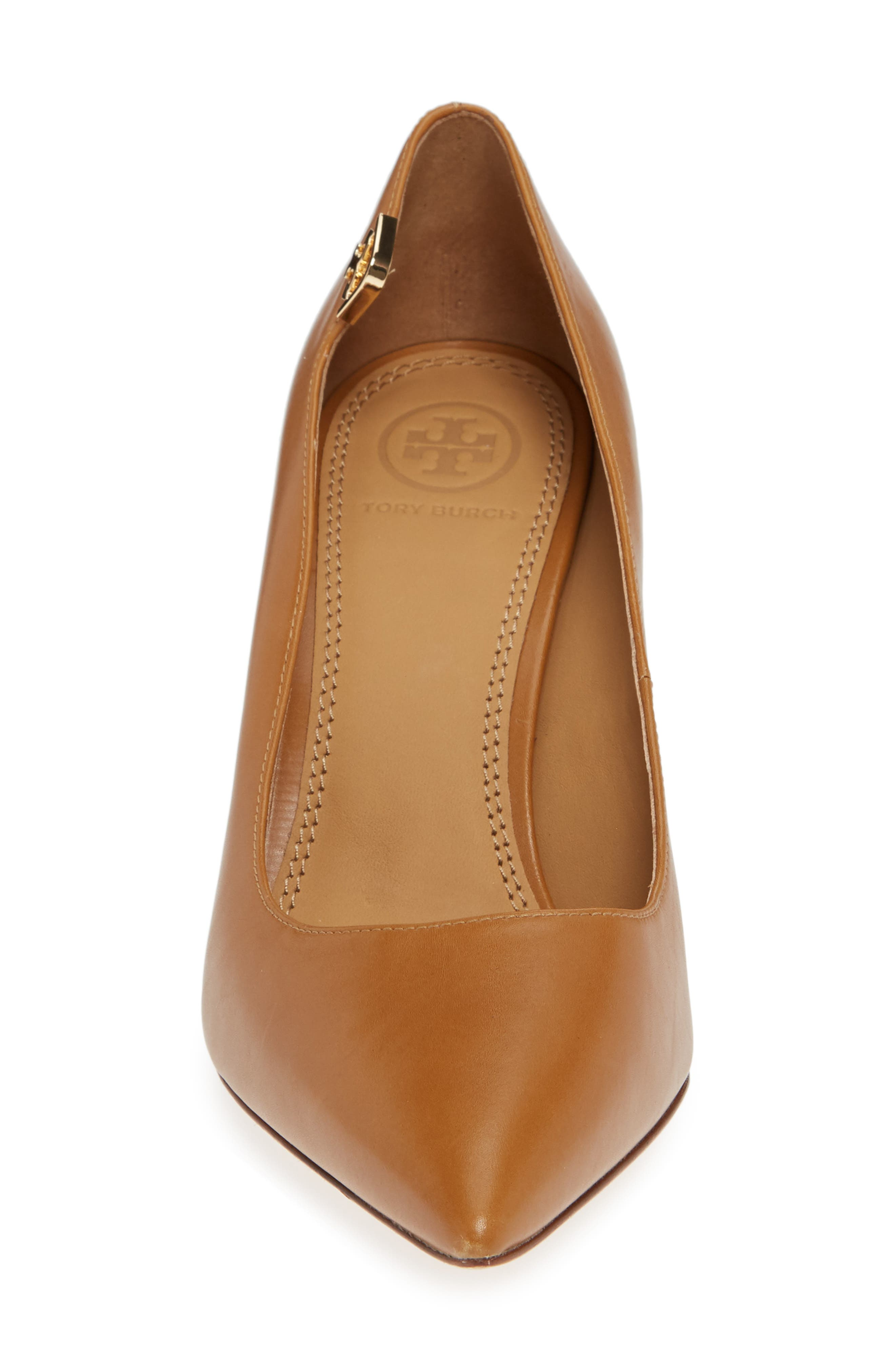 Elizabeth Pointy Toe Pump,                             Alternate thumbnail 4, color,                             DEEP VICUNA
