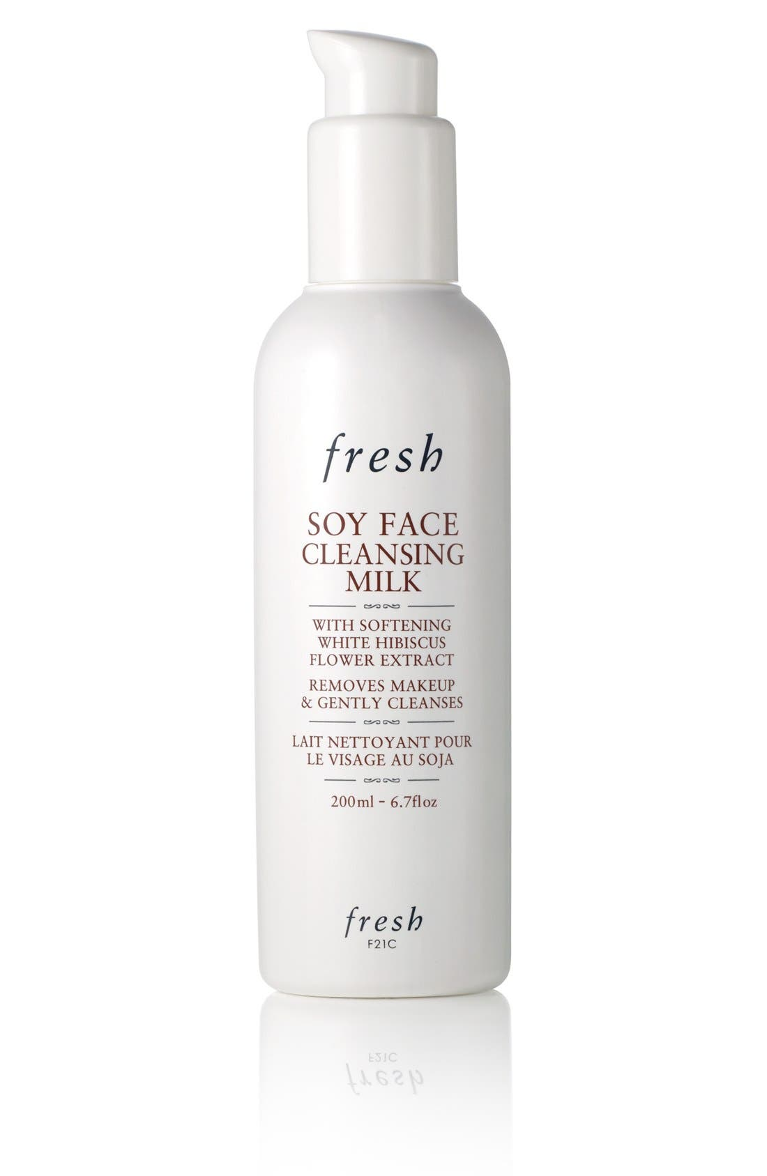 Soy Face Cleansing Milk,                             Main thumbnail 1, color,                             NO COLOR