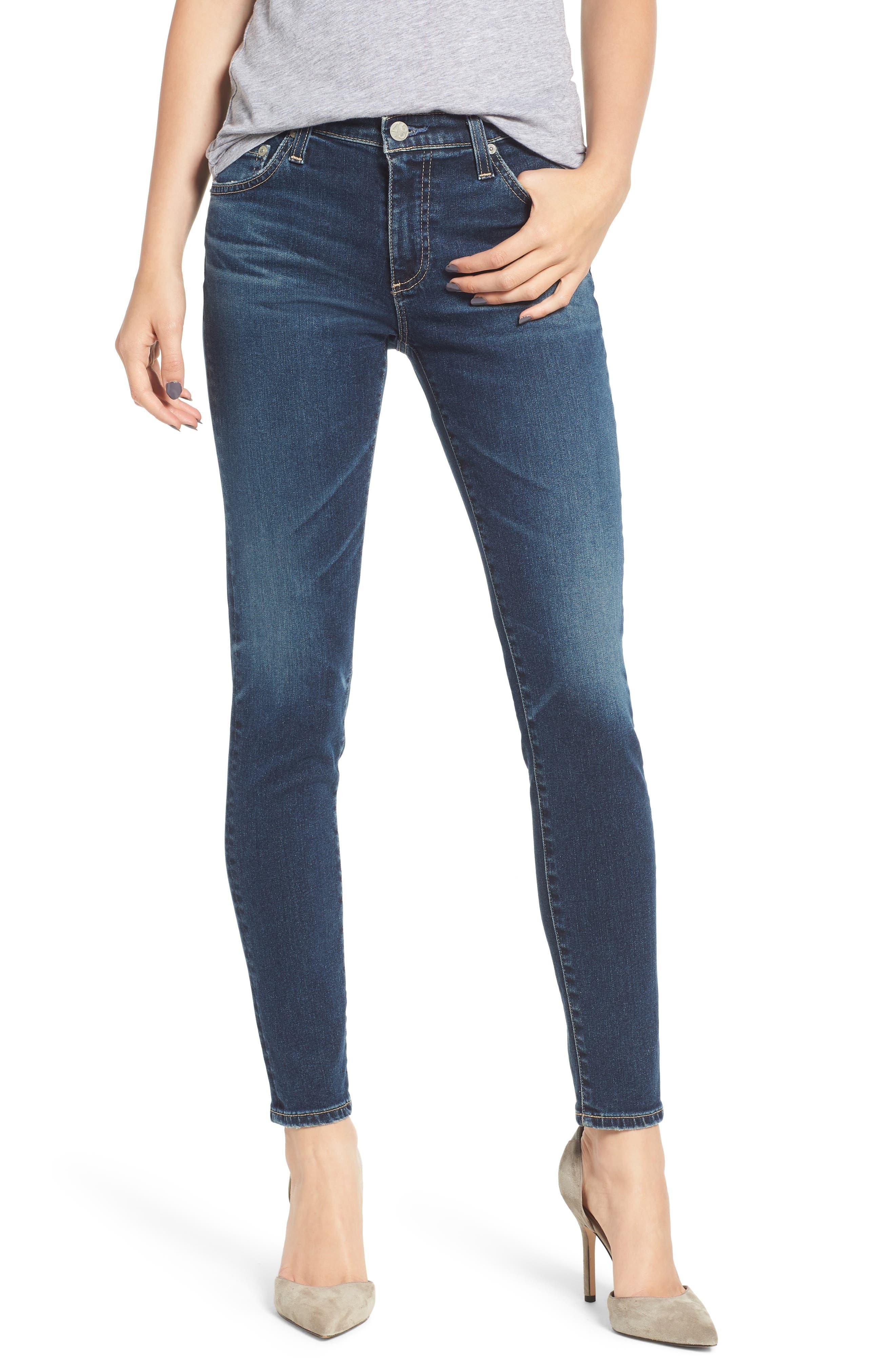 The Legging Ankle Super Skinny Jeans,                             Main thumbnail 1, color,                             10Y TRANSCENDANCE