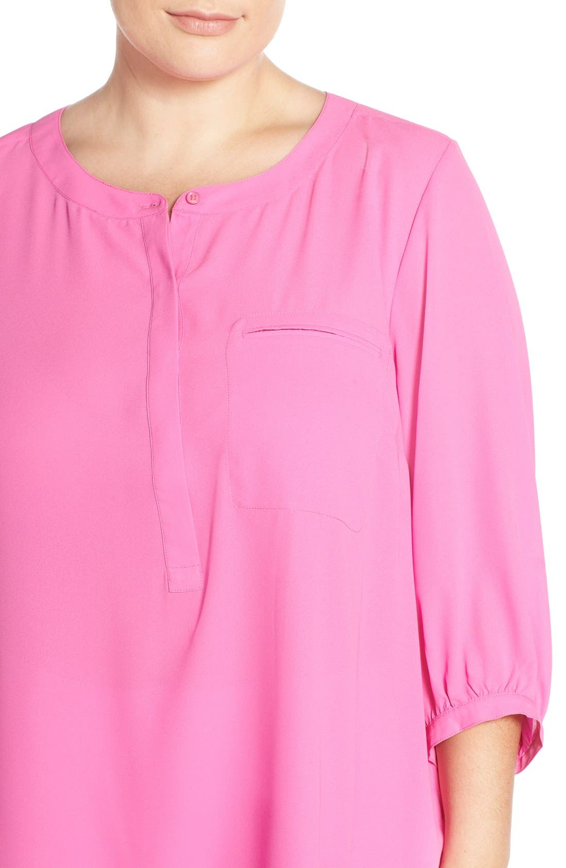 Henley Top,                             Alternate thumbnail 257, color,