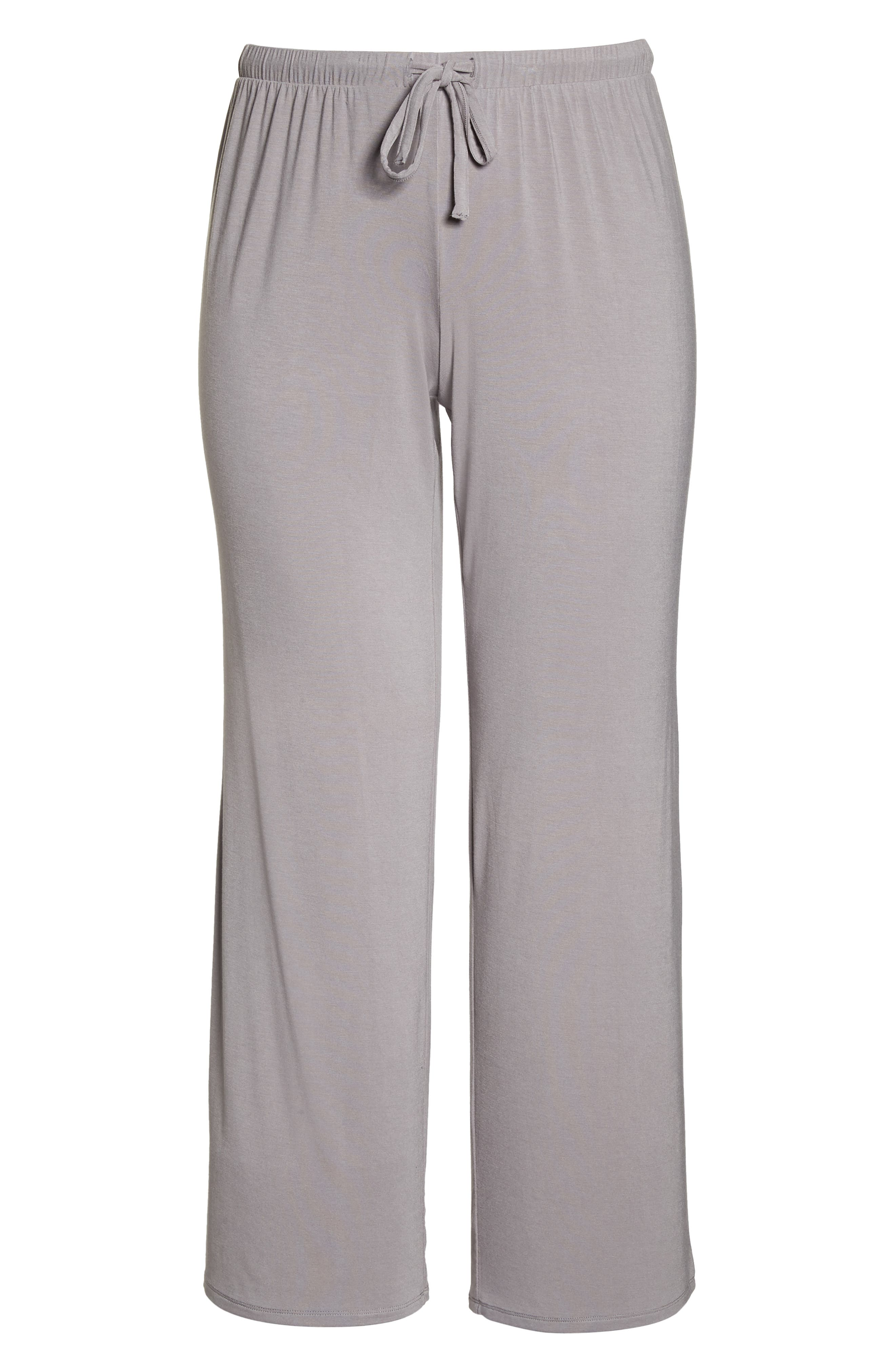 Breathe Lounge Pants,                             Alternate thumbnail 6, color,                             GREY GULL