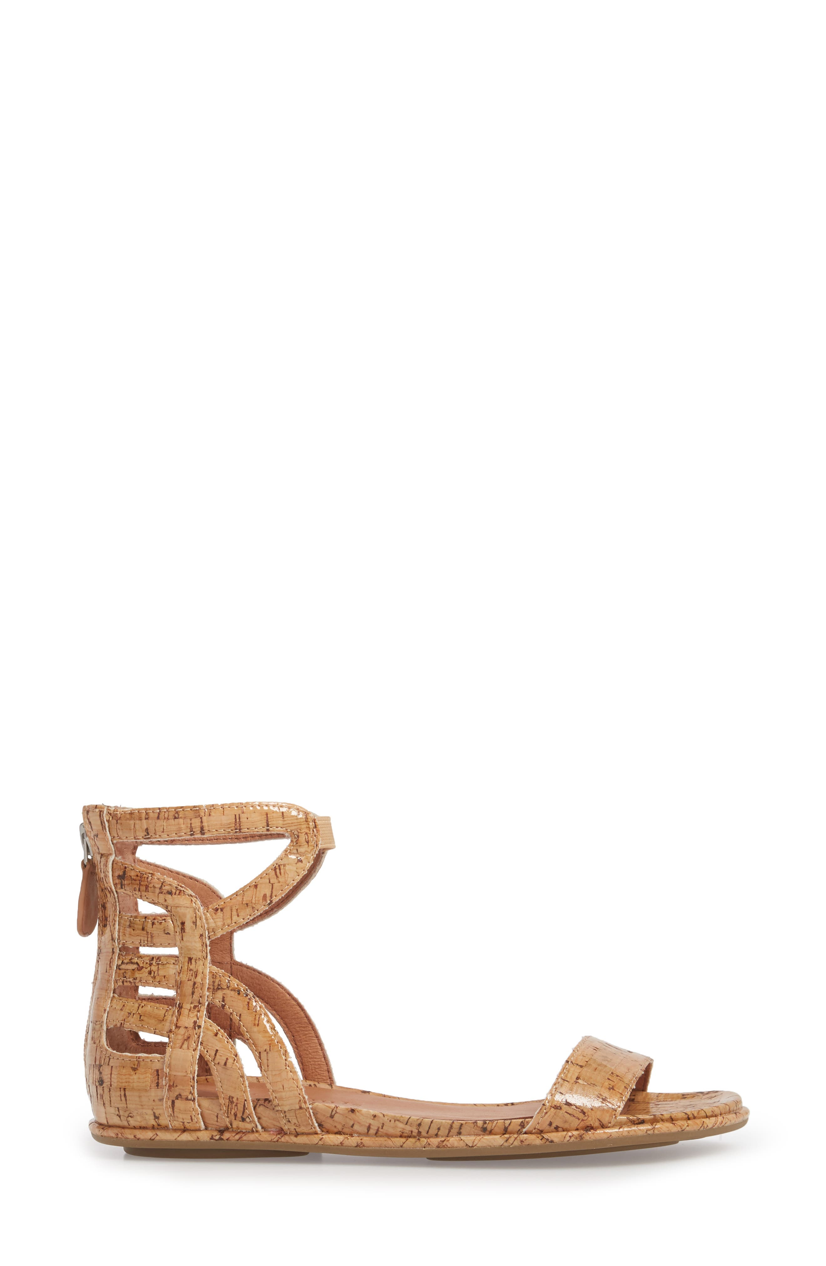 by Kenneth Cole Larissa Sandal,                             Alternate thumbnail 3, color,                             NATURAL