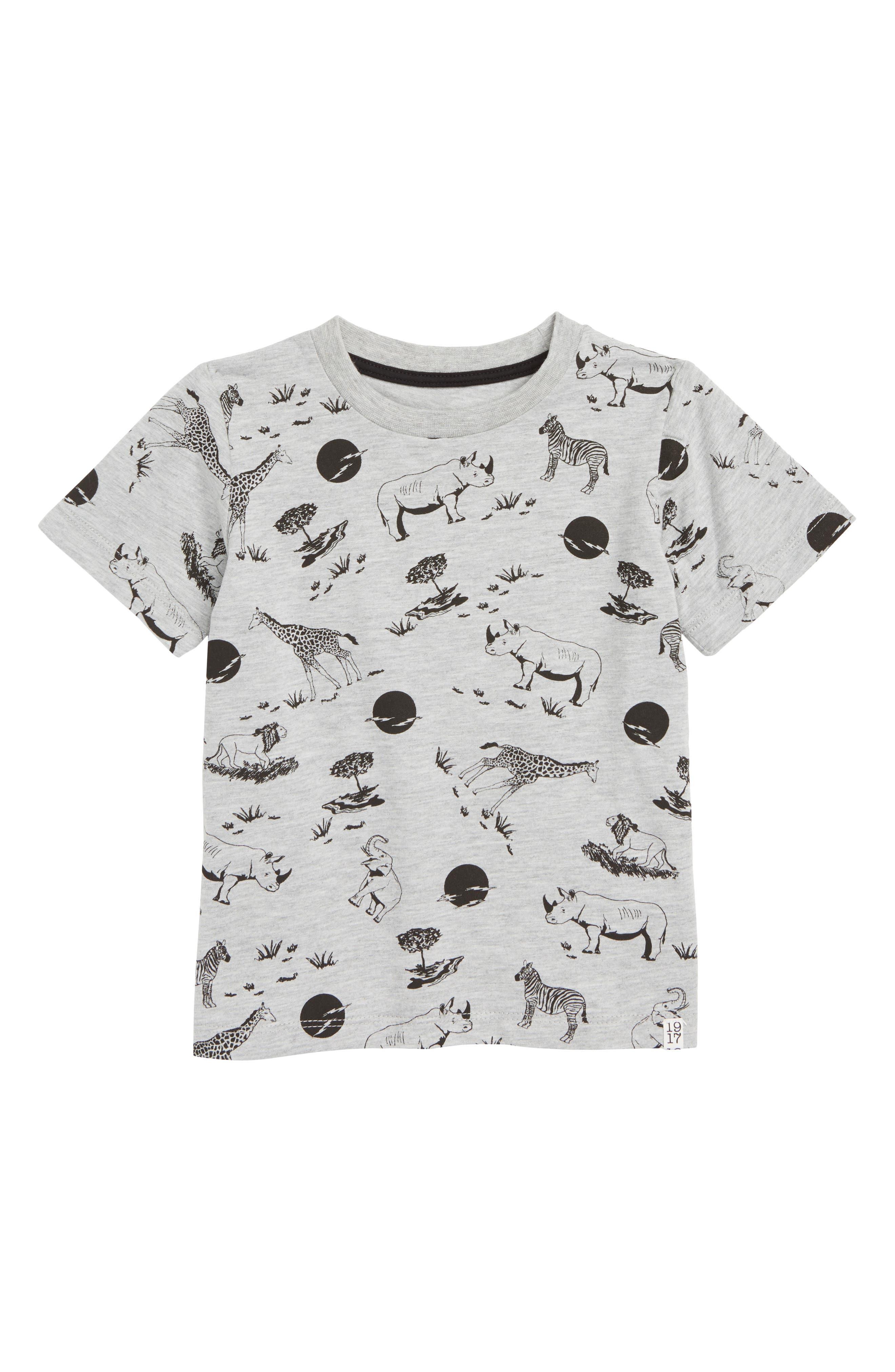Loy T-Shirt,                         Main,                         color, SAFARI COLOR