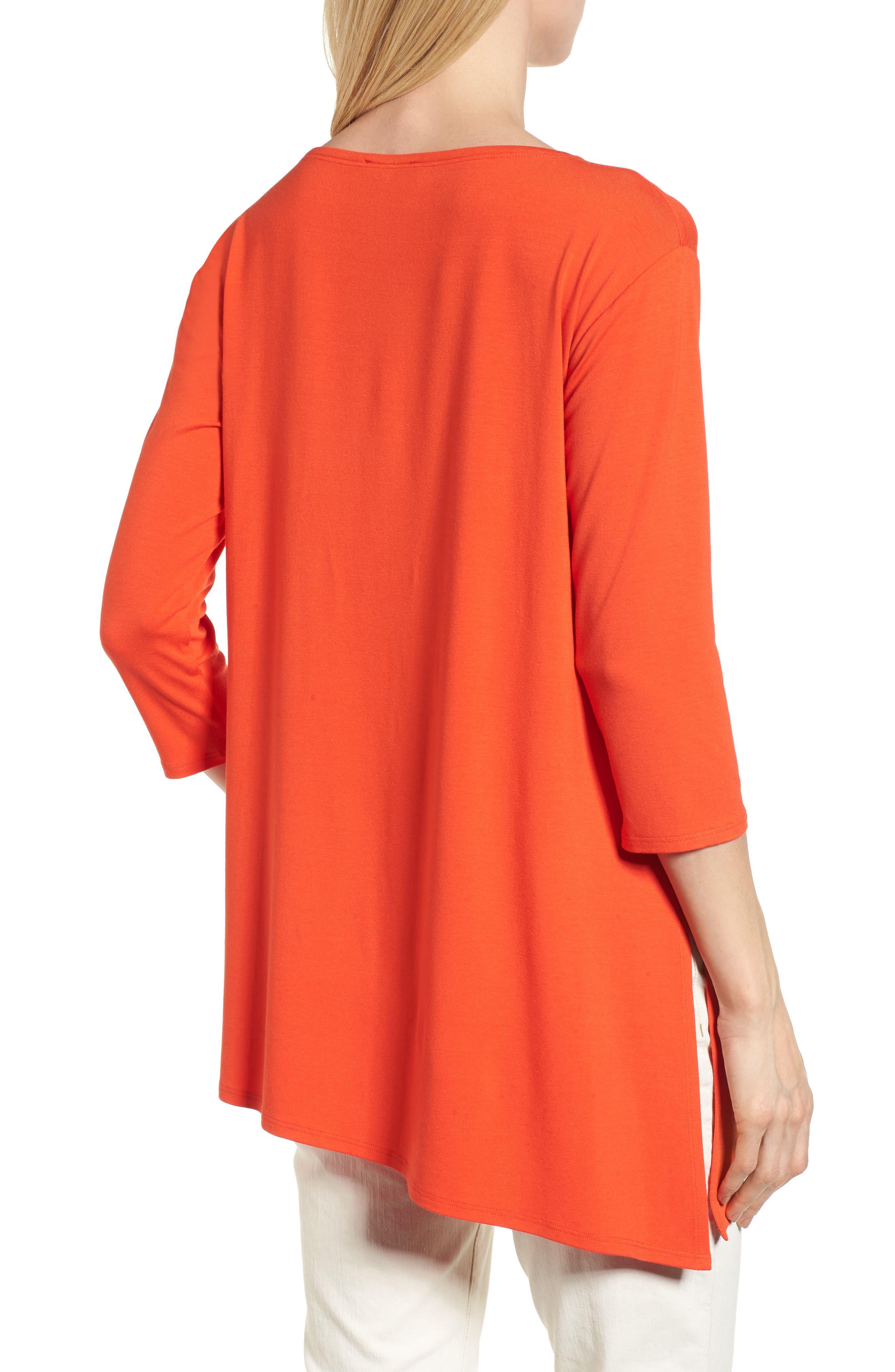 Asymmetrical Jersey Top,                             Alternate thumbnail 15, color,