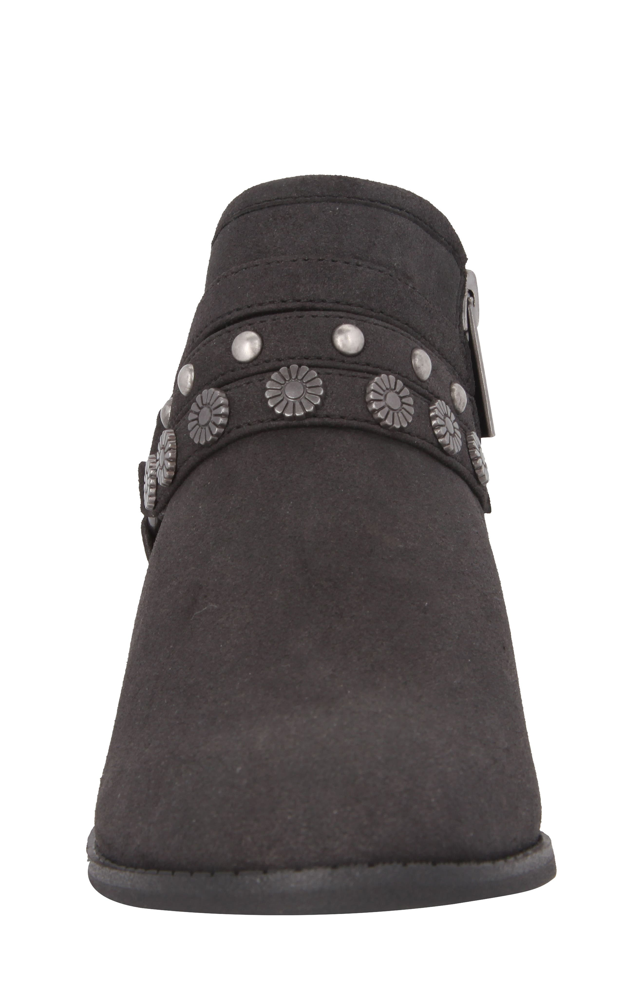 Zoe Strappy Low Bootie,                             Alternate thumbnail 4, color,                             003