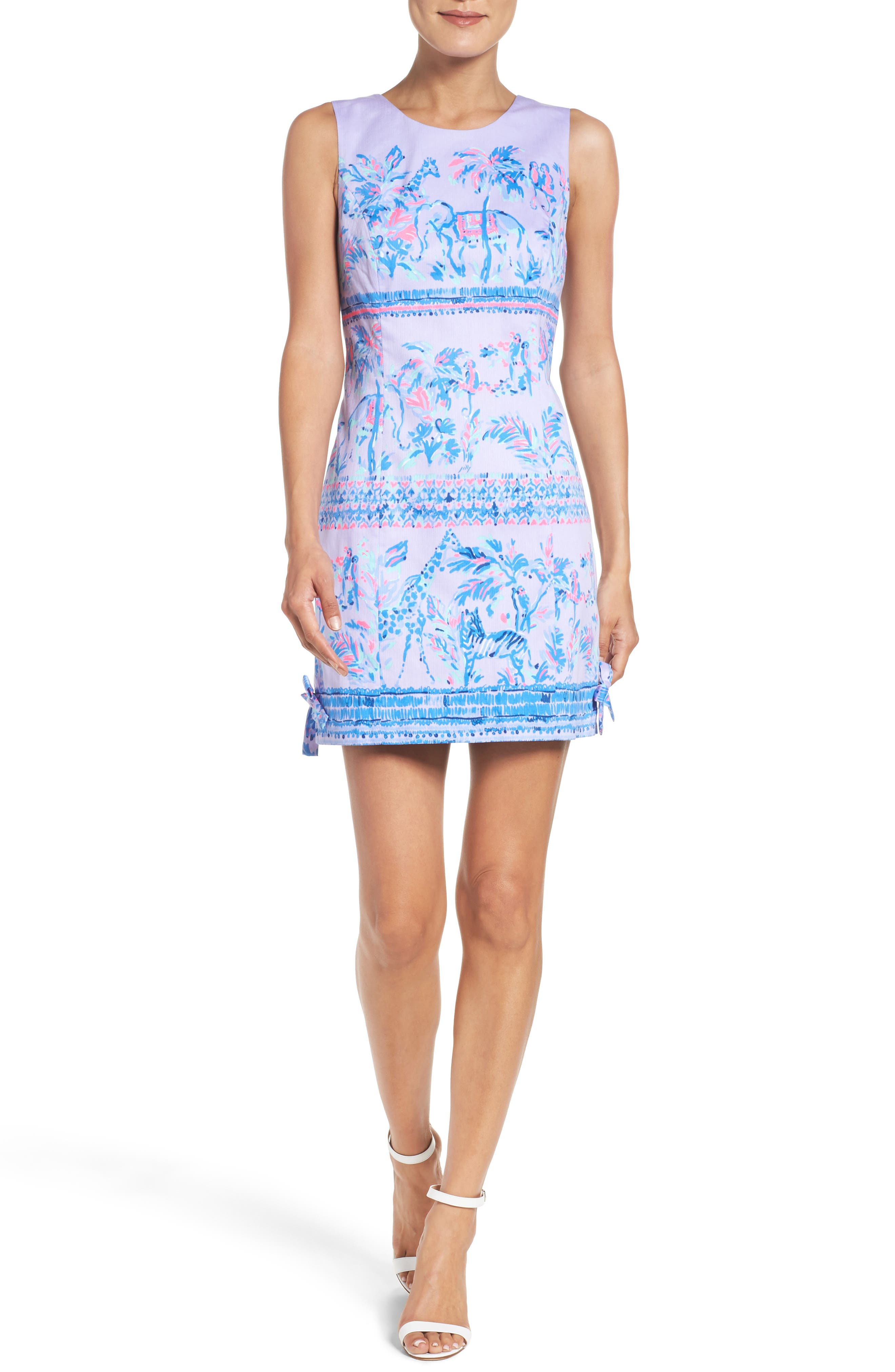 LILLY PULITZER<SUP>®</SUP>,                             Mila Shift Dress,                             Alternate thumbnail 5, color,                             550