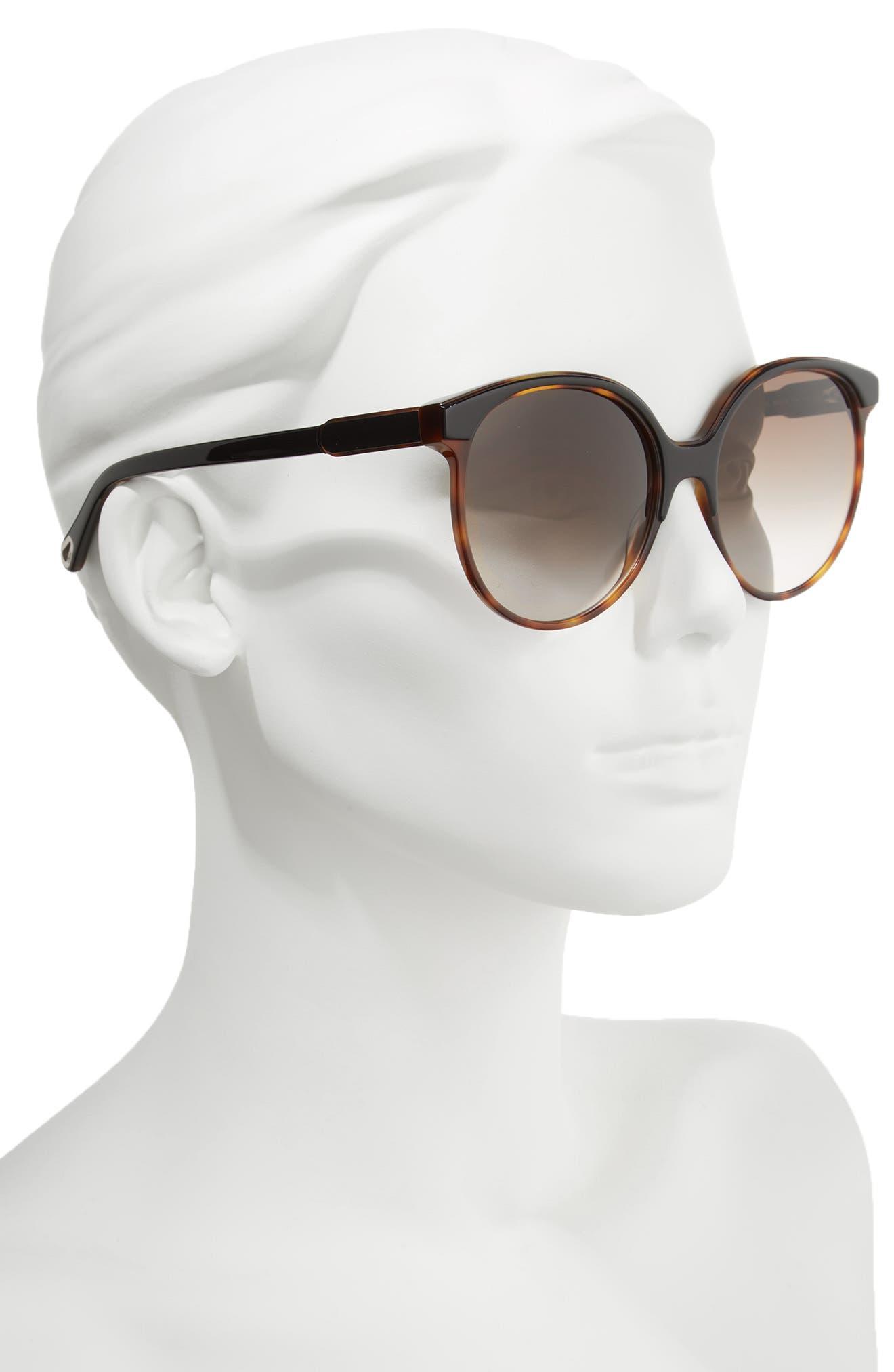 59mm Round Sunglasses,                             Alternate thumbnail 2, color,                             004