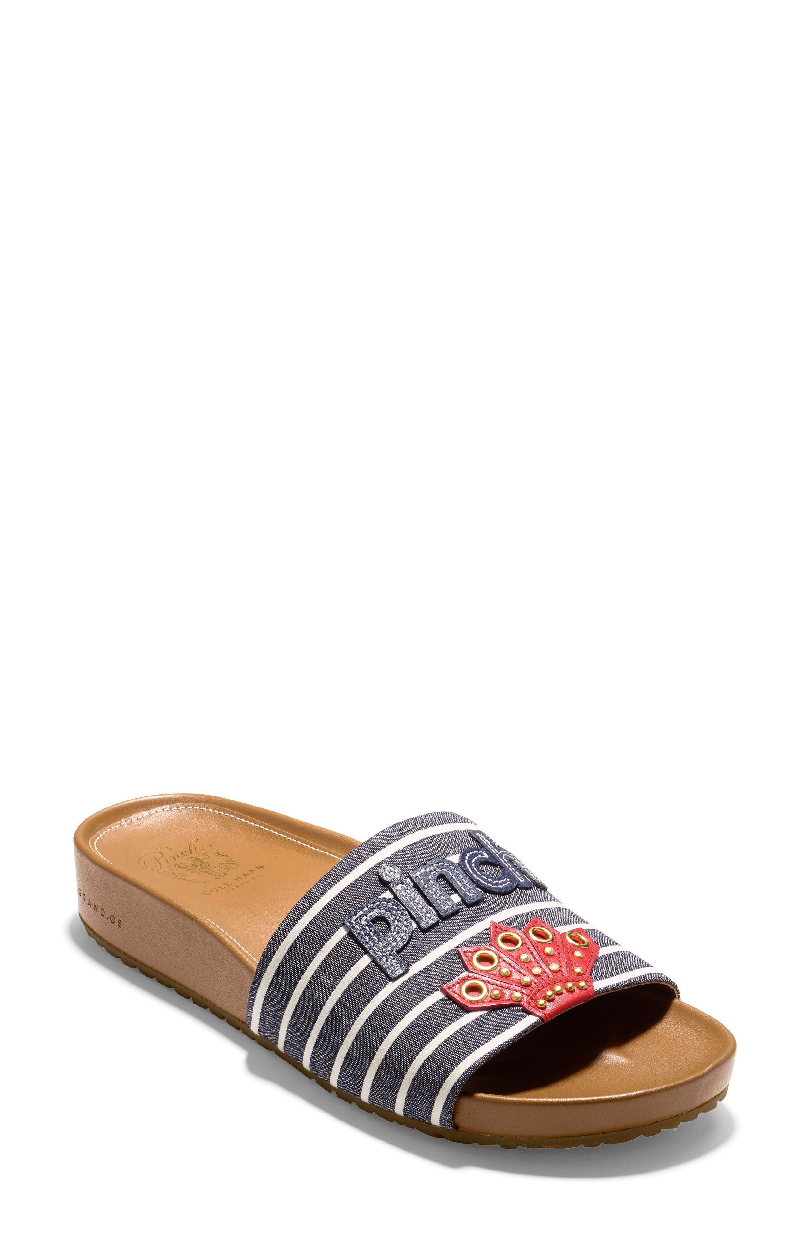 Pinch Montauk Lobster Slide Sandal,                             Main thumbnail 2, color,