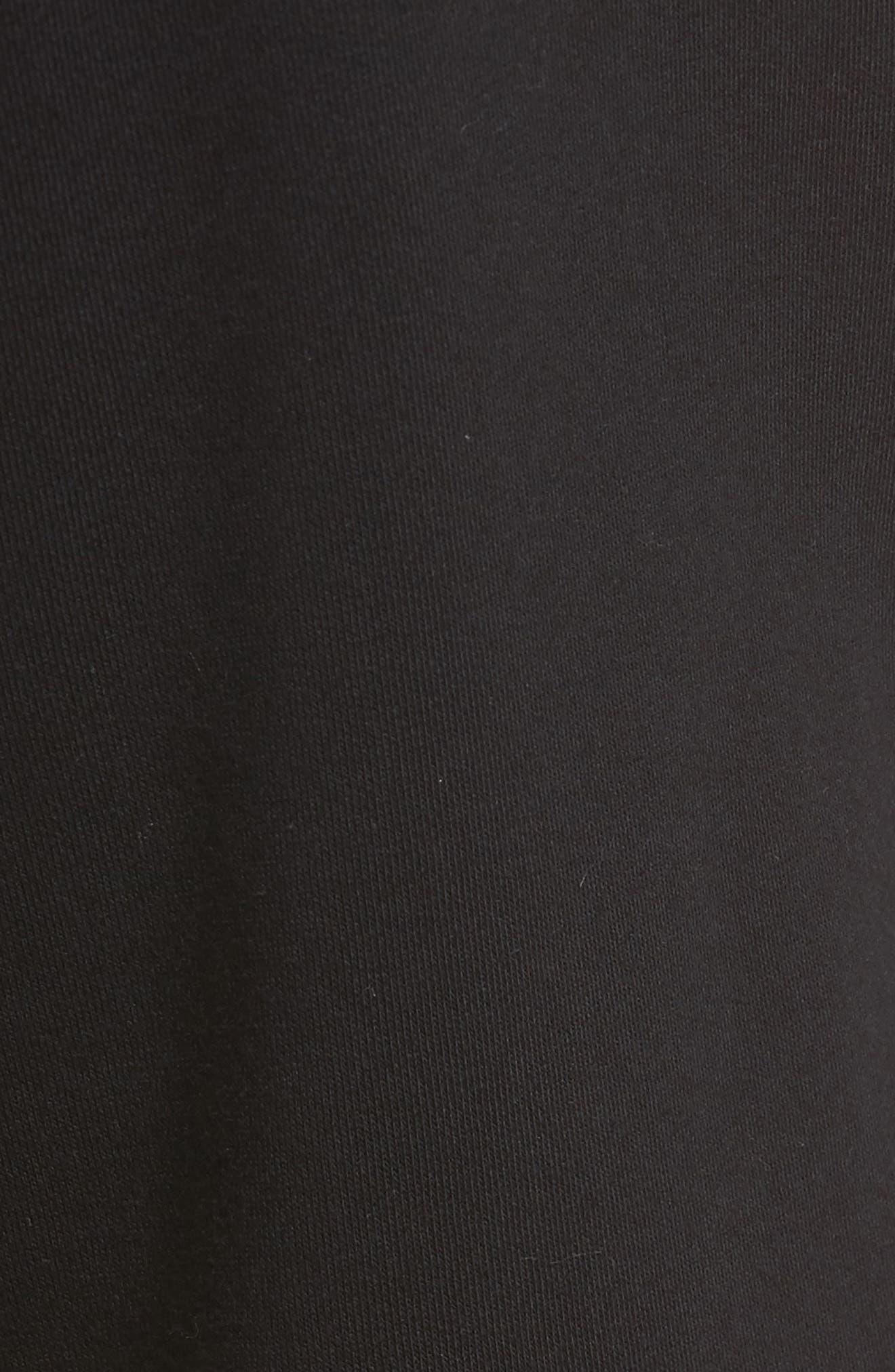 Fleece Shorts,                             Alternate thumbnail 5, color,                             010
