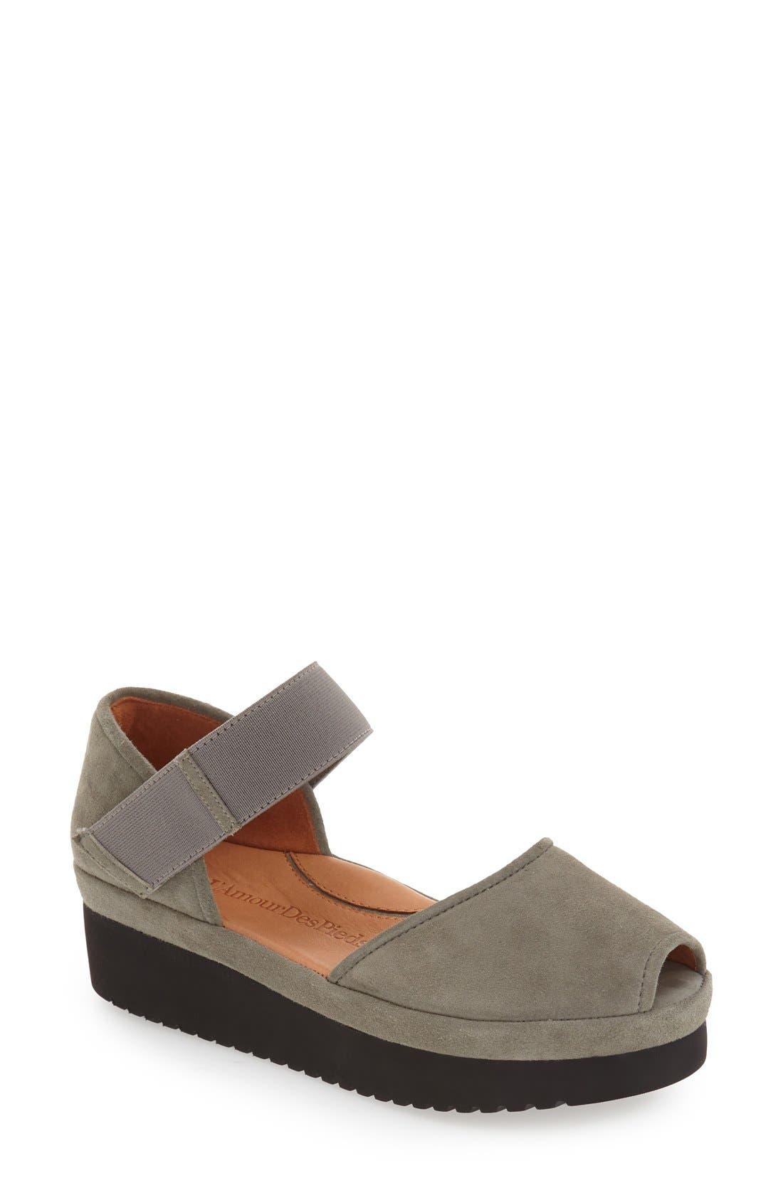'Amadour' Platform Sandal,                             Main thumbnail 4, color,