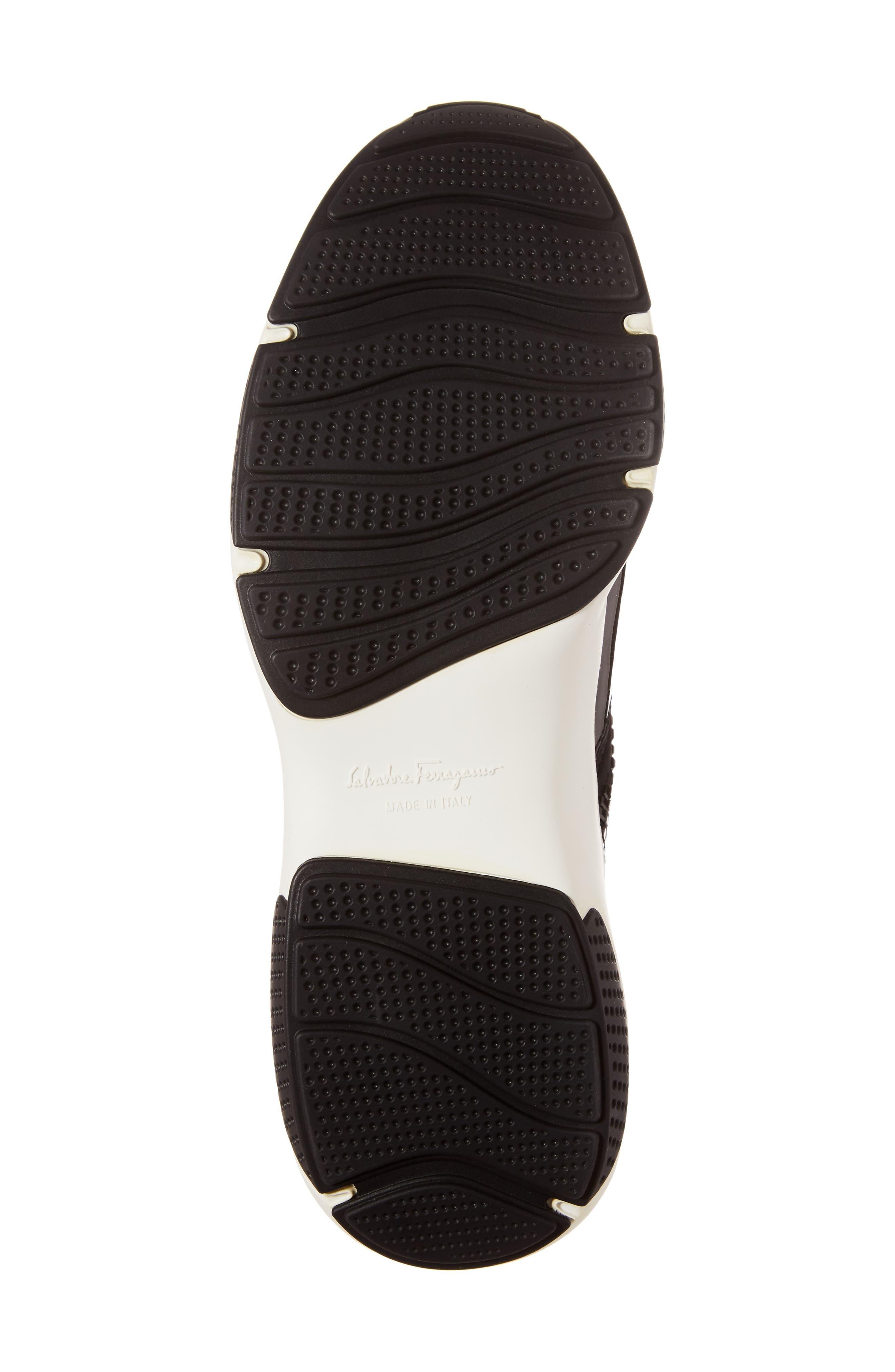 Salvatore Ferragmo Giolly Slip-On Sneaker,                             Alternate thumbnail 6, color,                             001